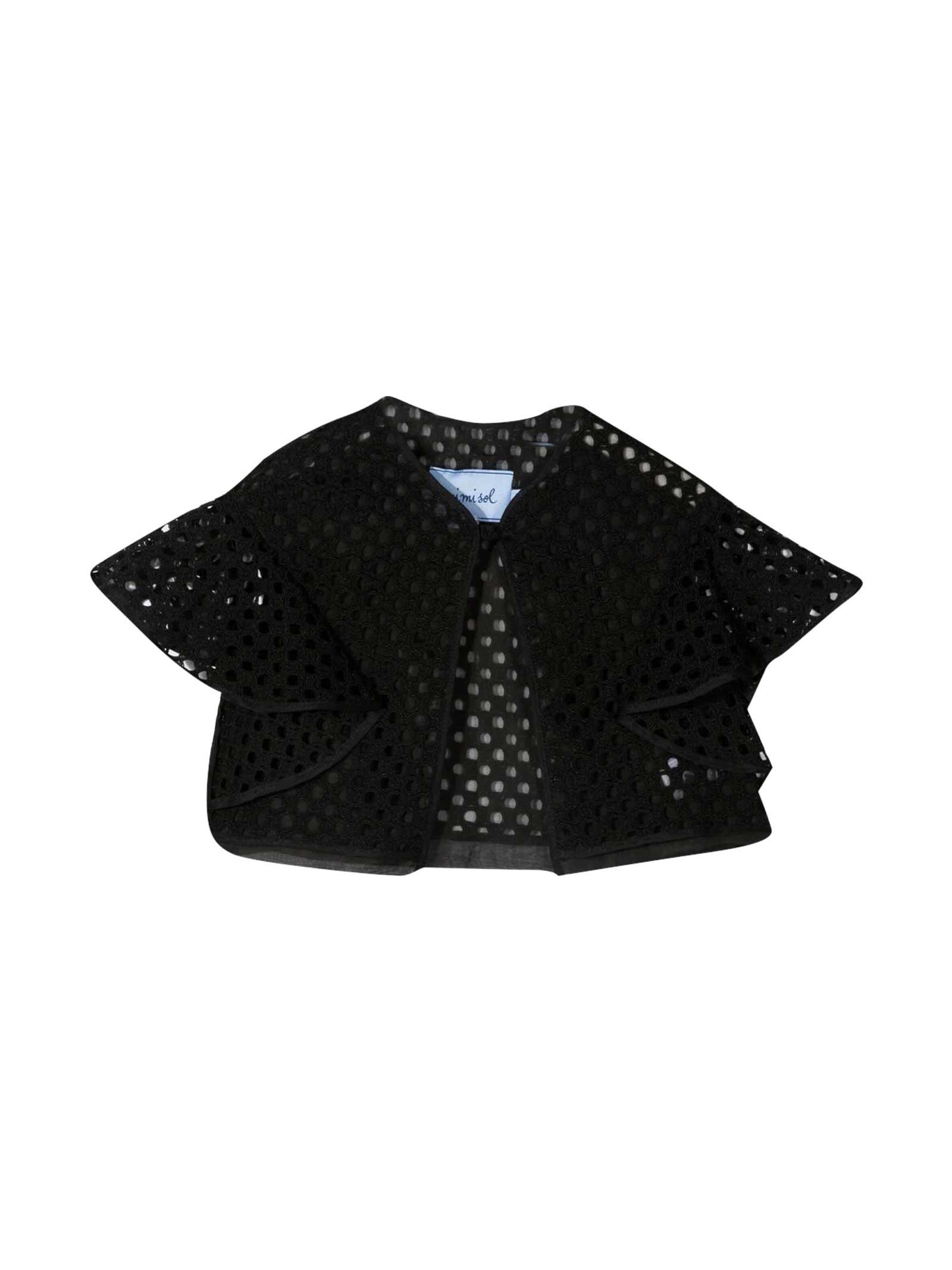 Black Jacket Mi Mi Sol Kids