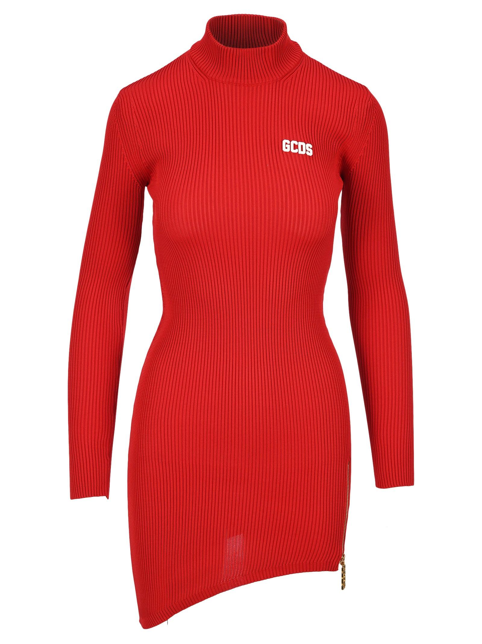Gcds Ribbed Mini Dress