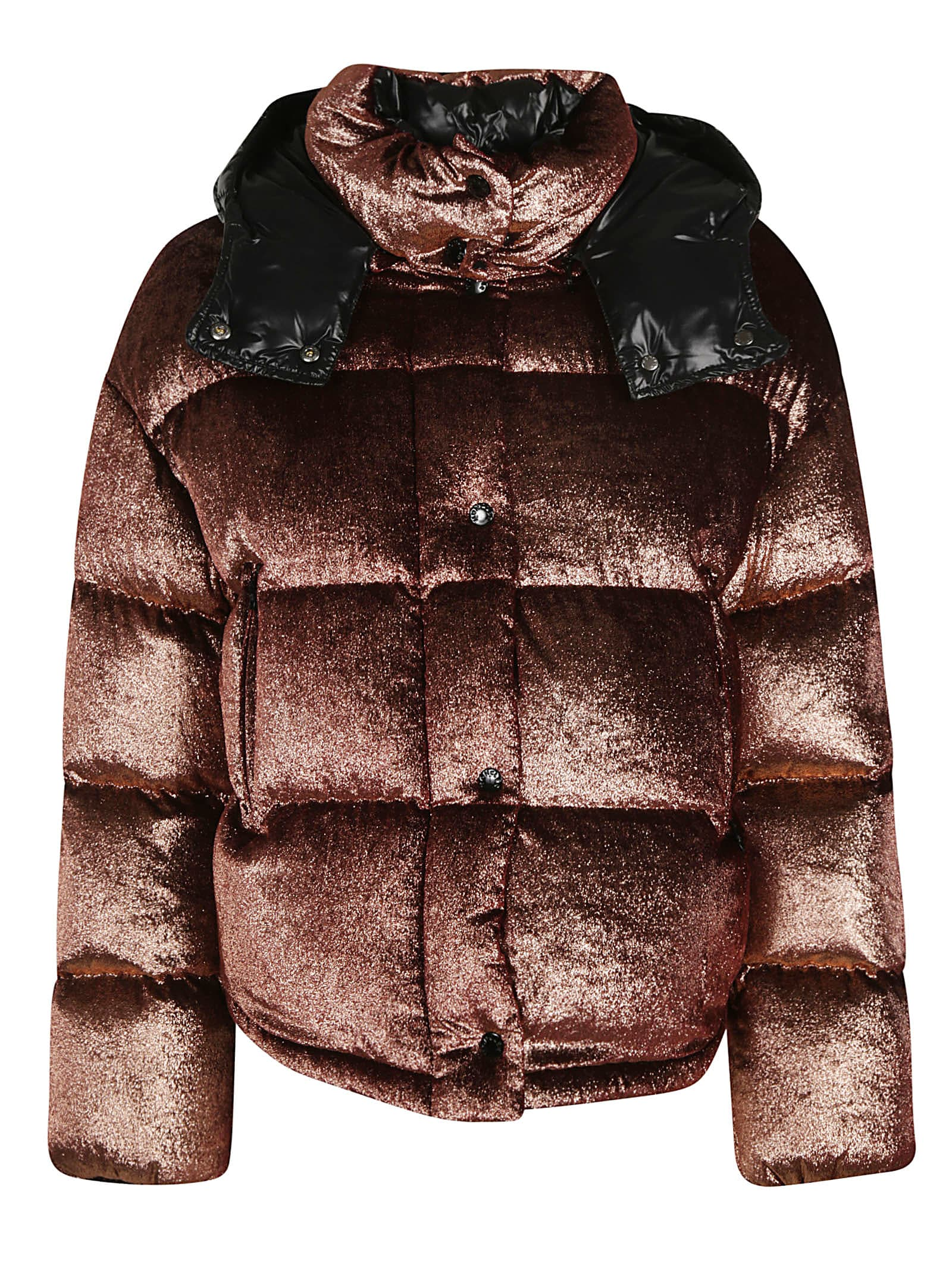 Moncler Metallic Padded Jacket