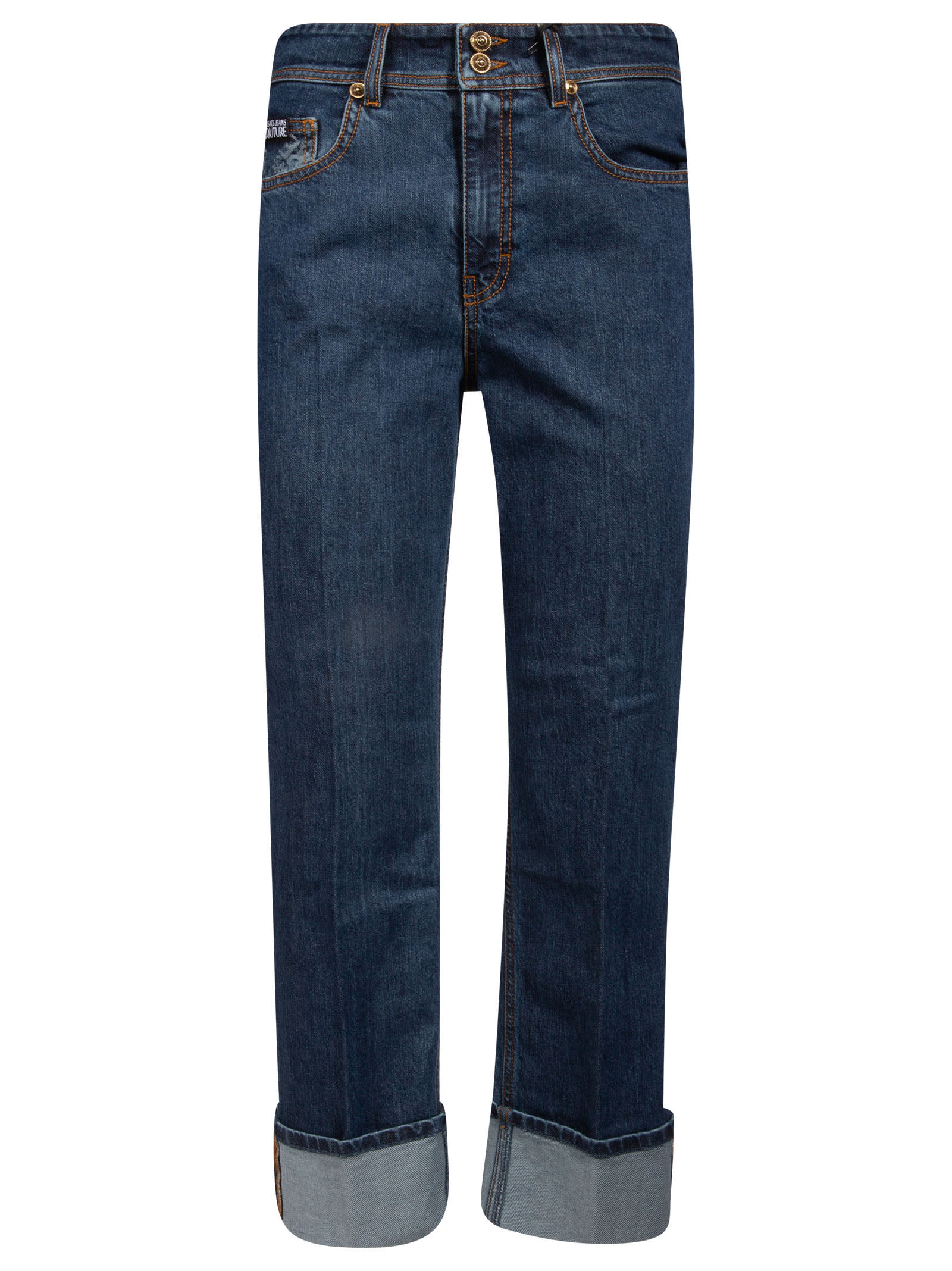 VERSACE JEANS COUTURE CLASSIC STRAIGHT JEANS