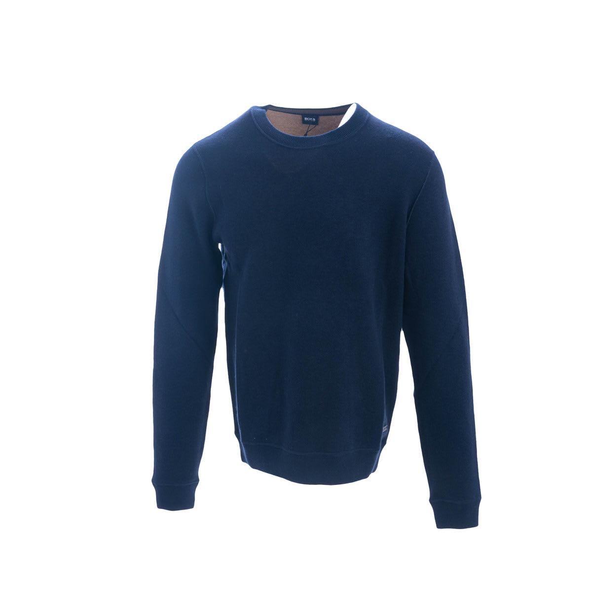 Boss Virgin Wool And Cotton Sweater
