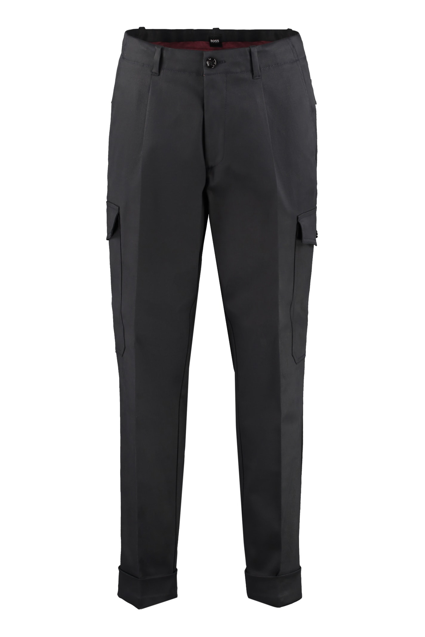 Kirio Relaxed-fit Cotton Trousers