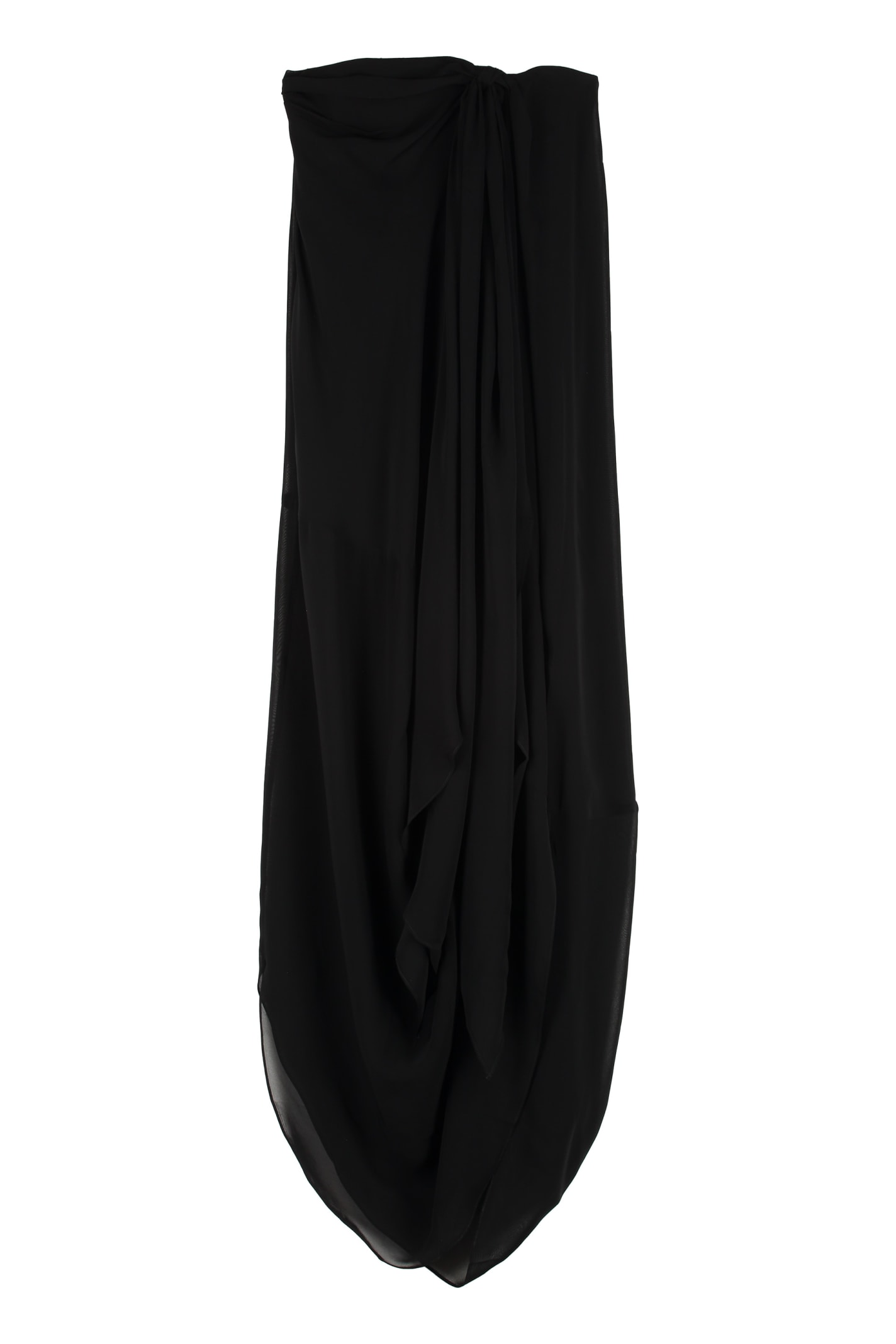 Jacquemus Asola Draped Dress