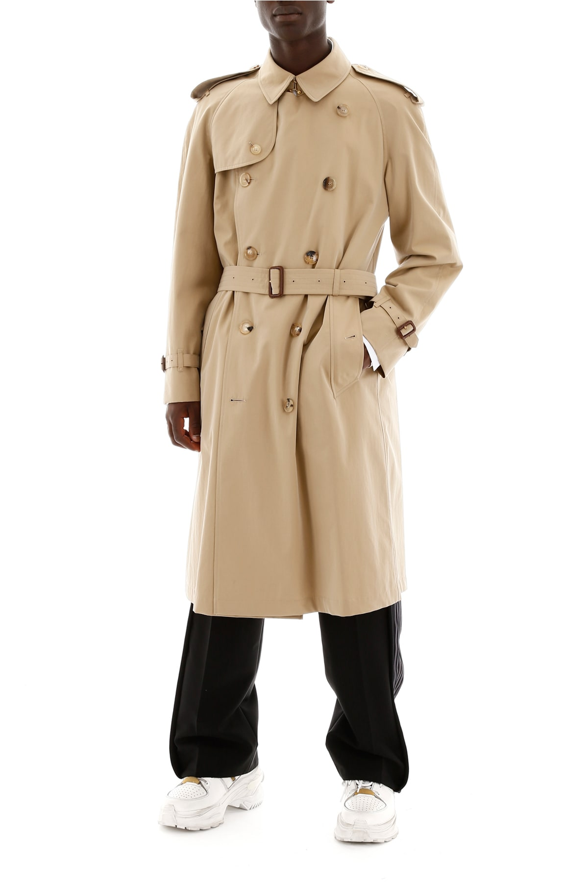 real quality popular design official shop Burberry Long Westminster Trench Coat