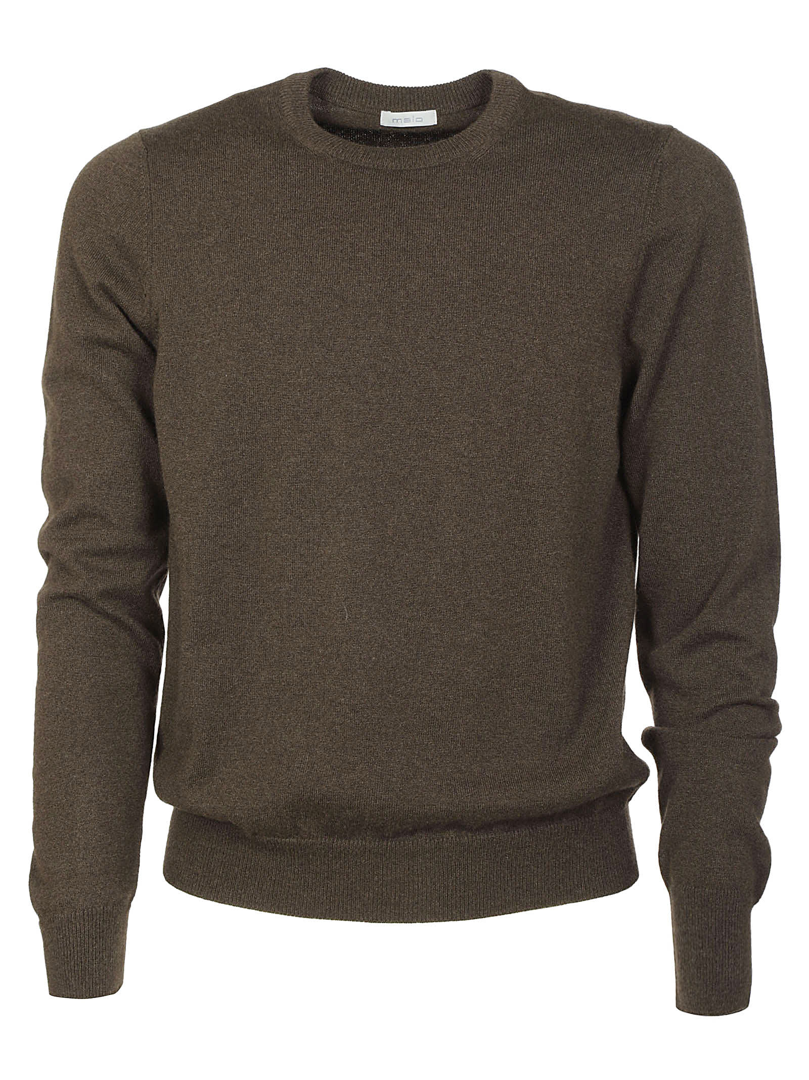 Malo Ribbed Plain Sweater