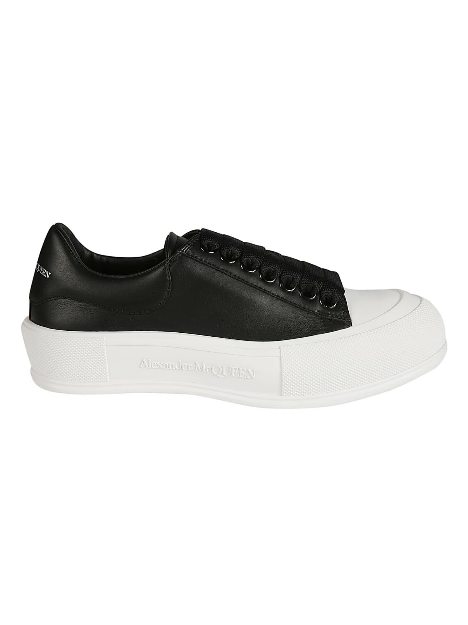 Alexander McQueen Embossed Logo Sole Sneakers