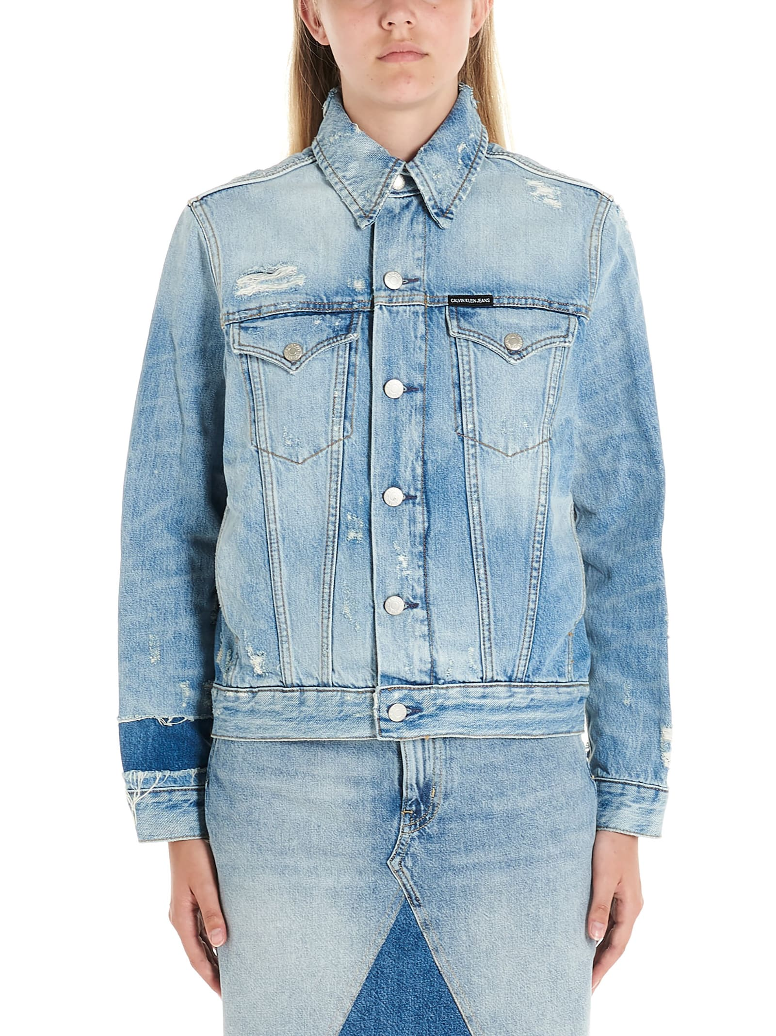 Photo of  Calvin Klein Jeans caballero Jacket- shop Calvin Klein Jeans jackets online sales