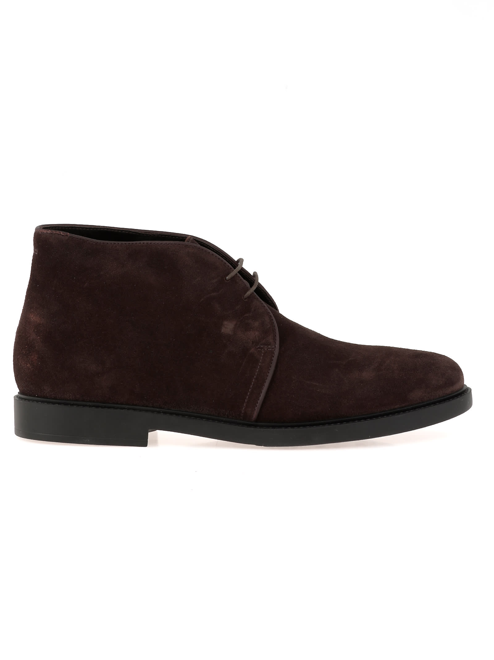 Fratelli Rossetti Leather Desert Boot