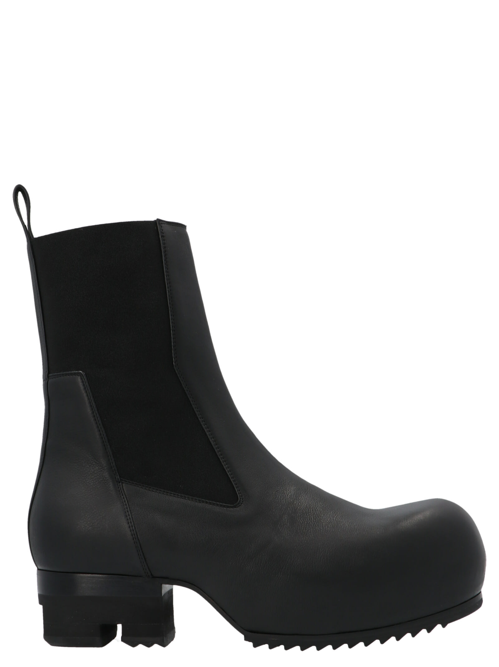Rick Owens BEATLE FILED BOOT SHOES