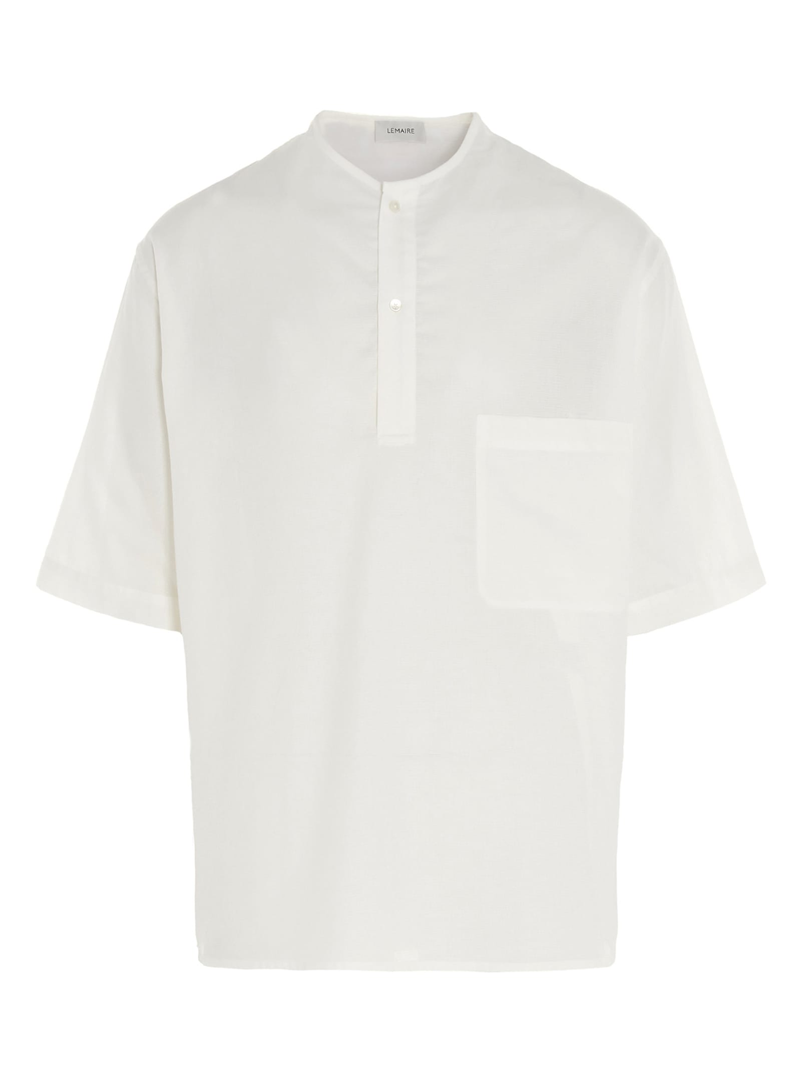 Lemaire Cottons HENLEY TOP T-SHIRT