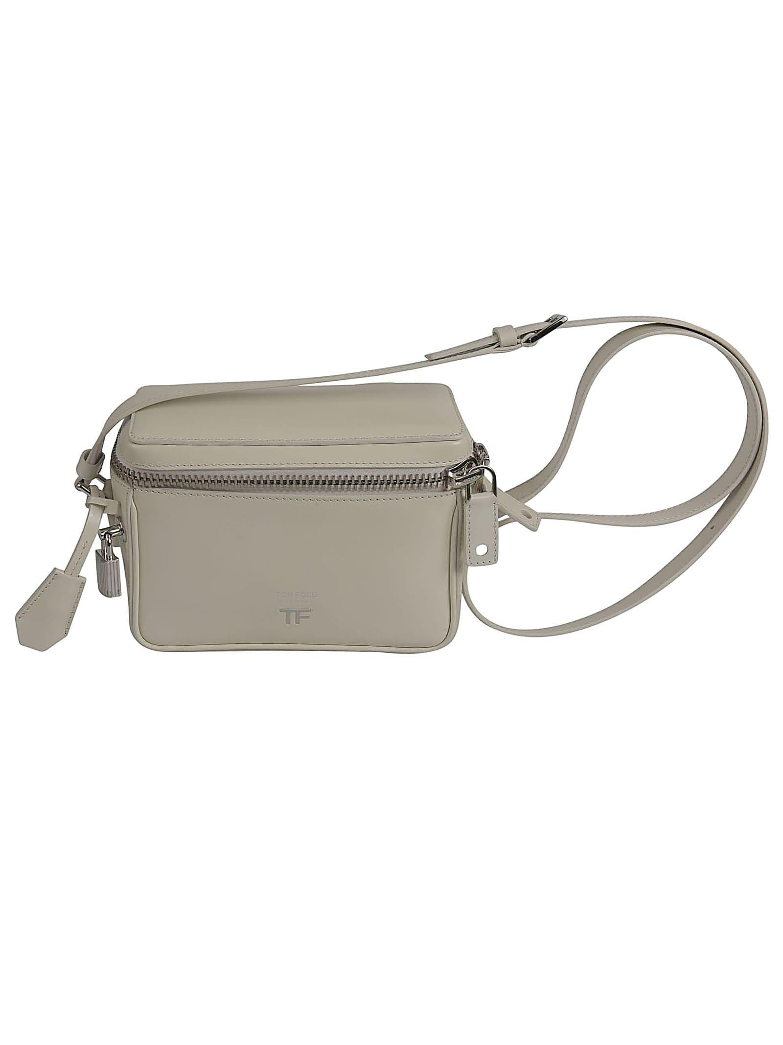 Zip-around Box Shoulder Bag