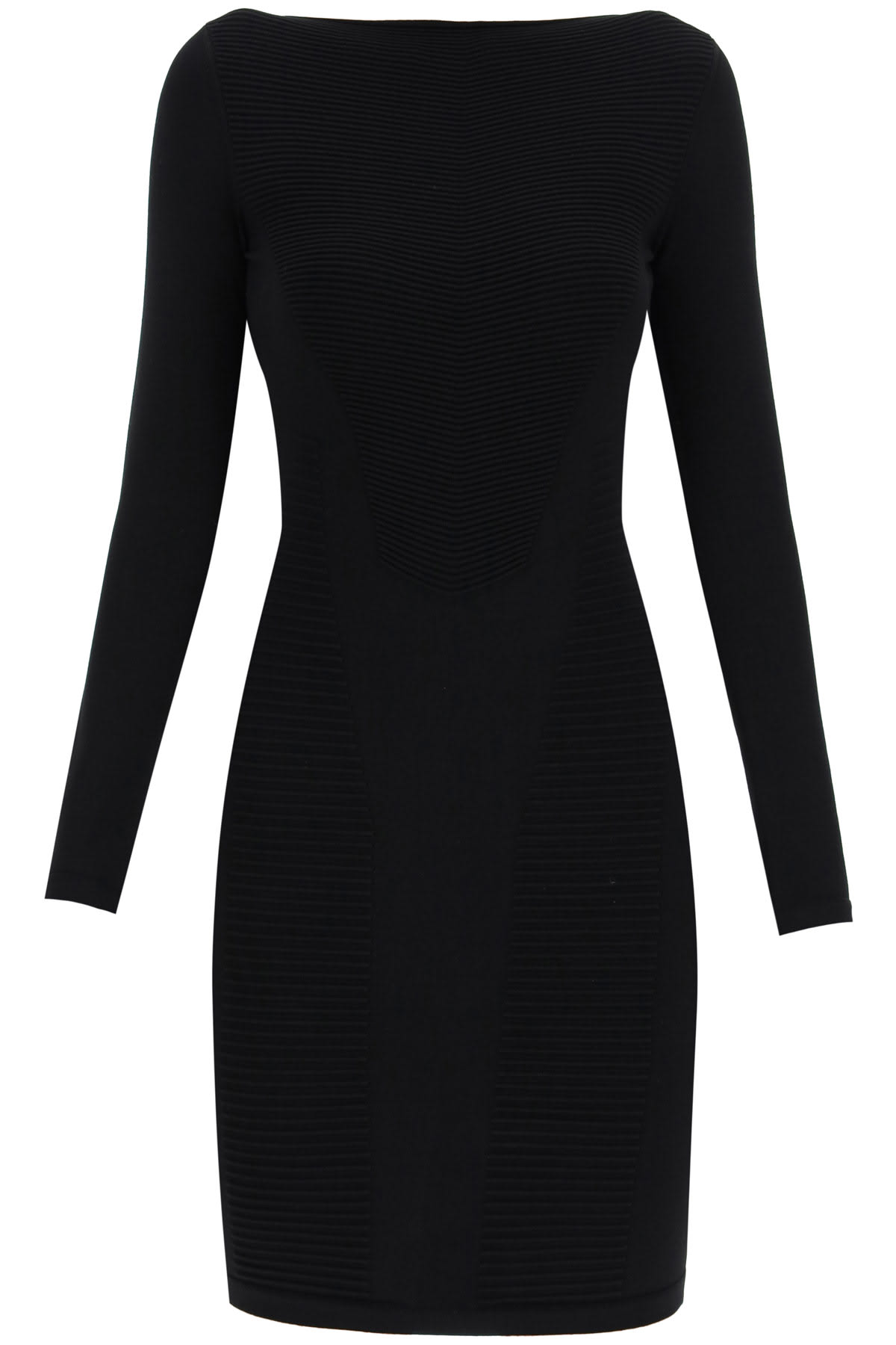 Buy Dsquared2 Ribbed Knit Sheath Mini Dress online, shop Dsquared2 with free shipping