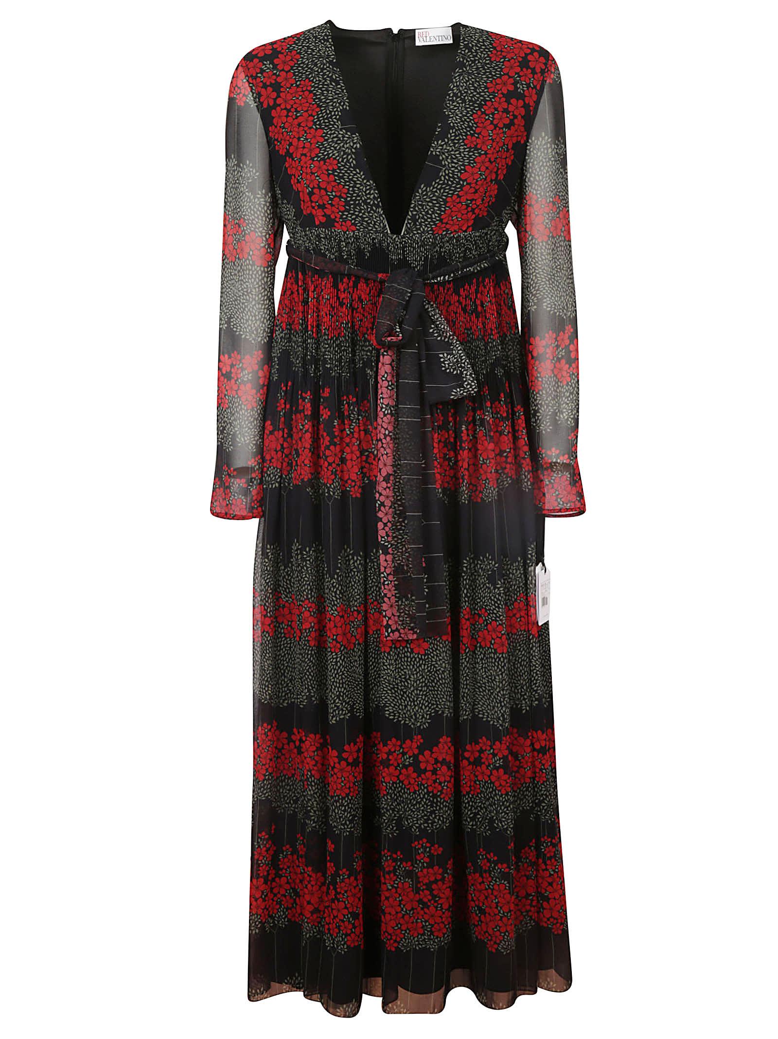 RED Valentino V-neck Dress