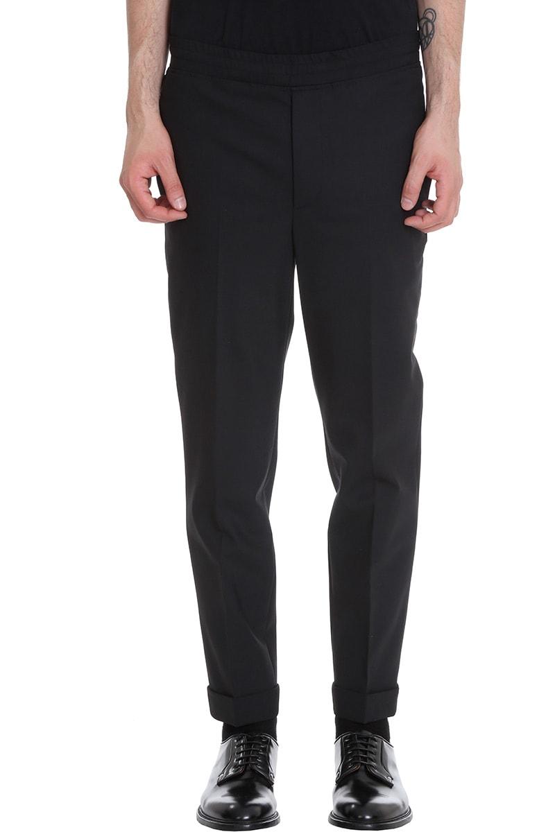 Neil Barrett Pants In Black Wool