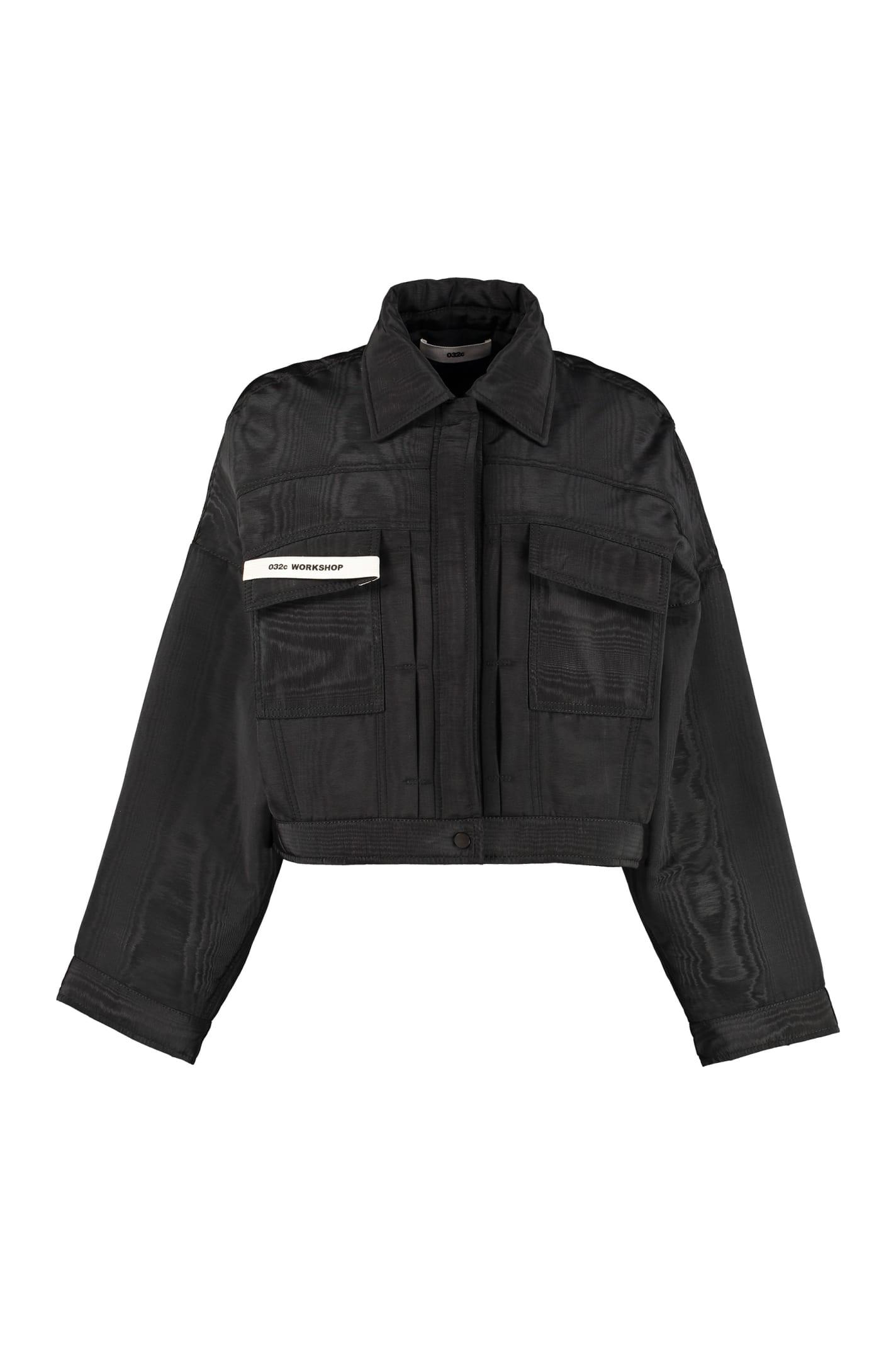 032c Techno Fabric Jacket