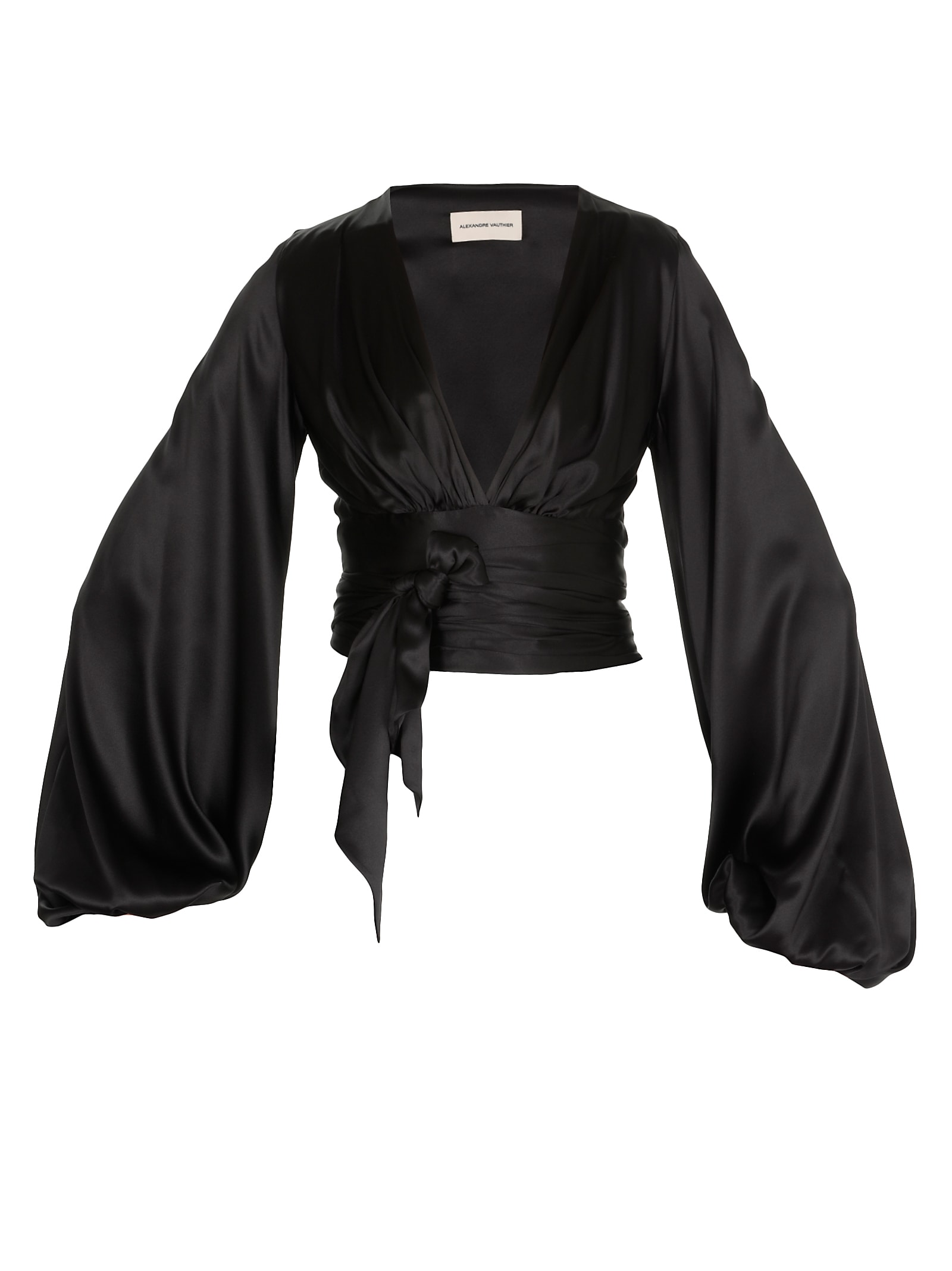 Alexandre Vauthier Wrap Around Top