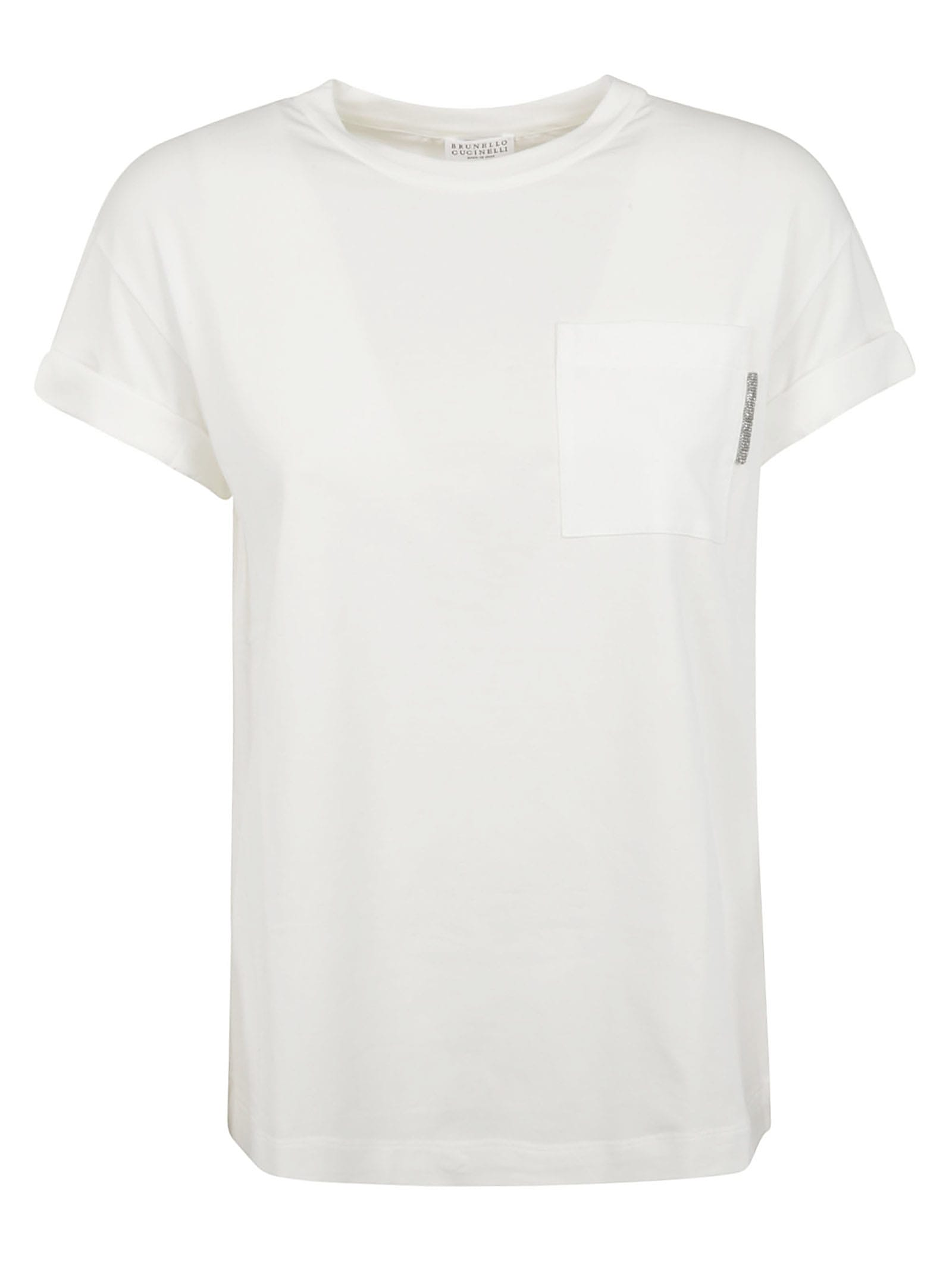 Brunello Cucinelli Round Neck T-shirt