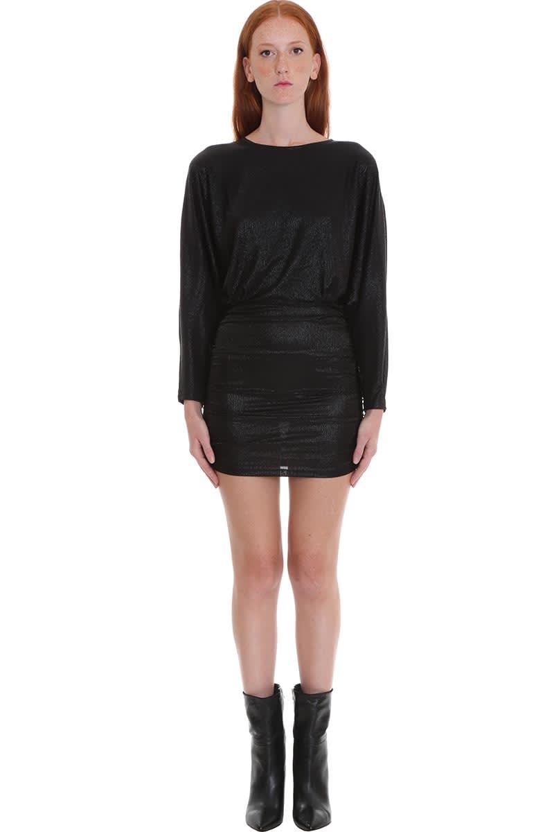 IRO Silar Dress In Black Polyester