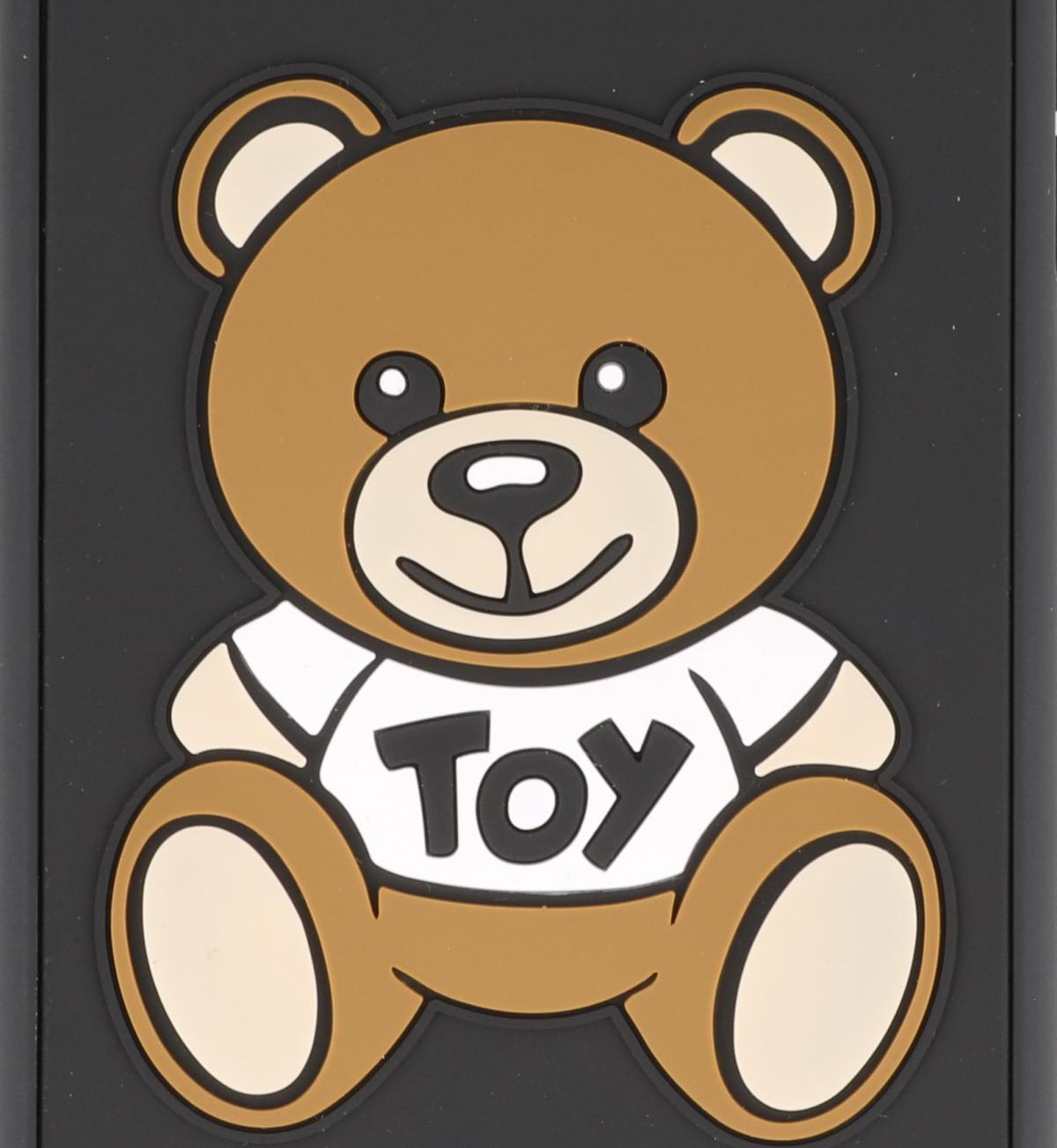 outlet store 3b25e daff8 Moschino Iphone 7+/8+ Moschino Teddy Bear Case