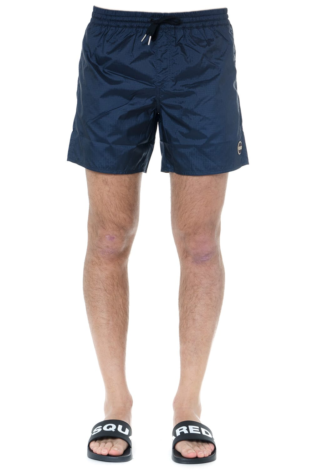 Colmar Blue Swim Shorts In Technical Fabric