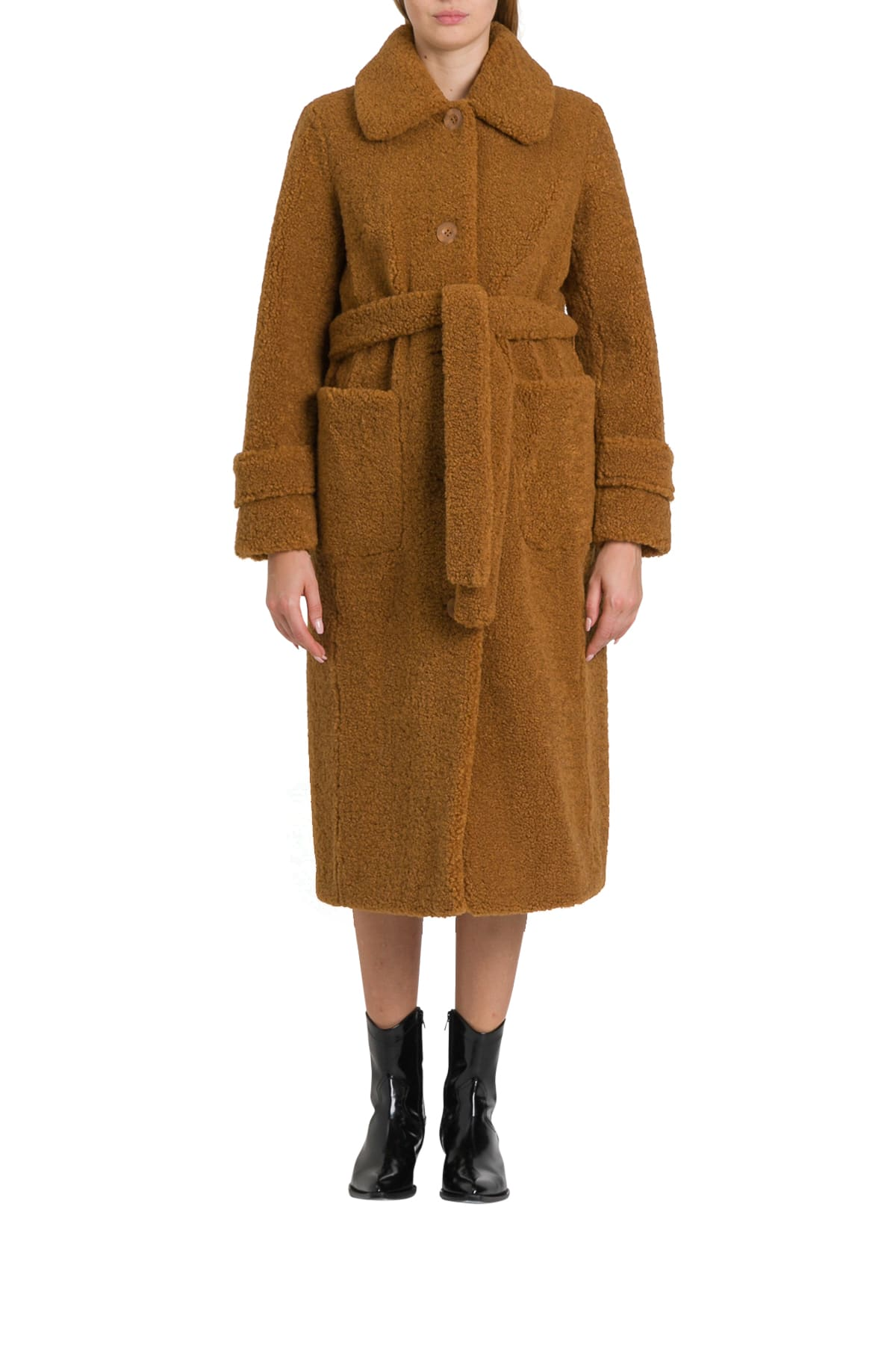 STAND STUDIO Lottie Teddy Coat