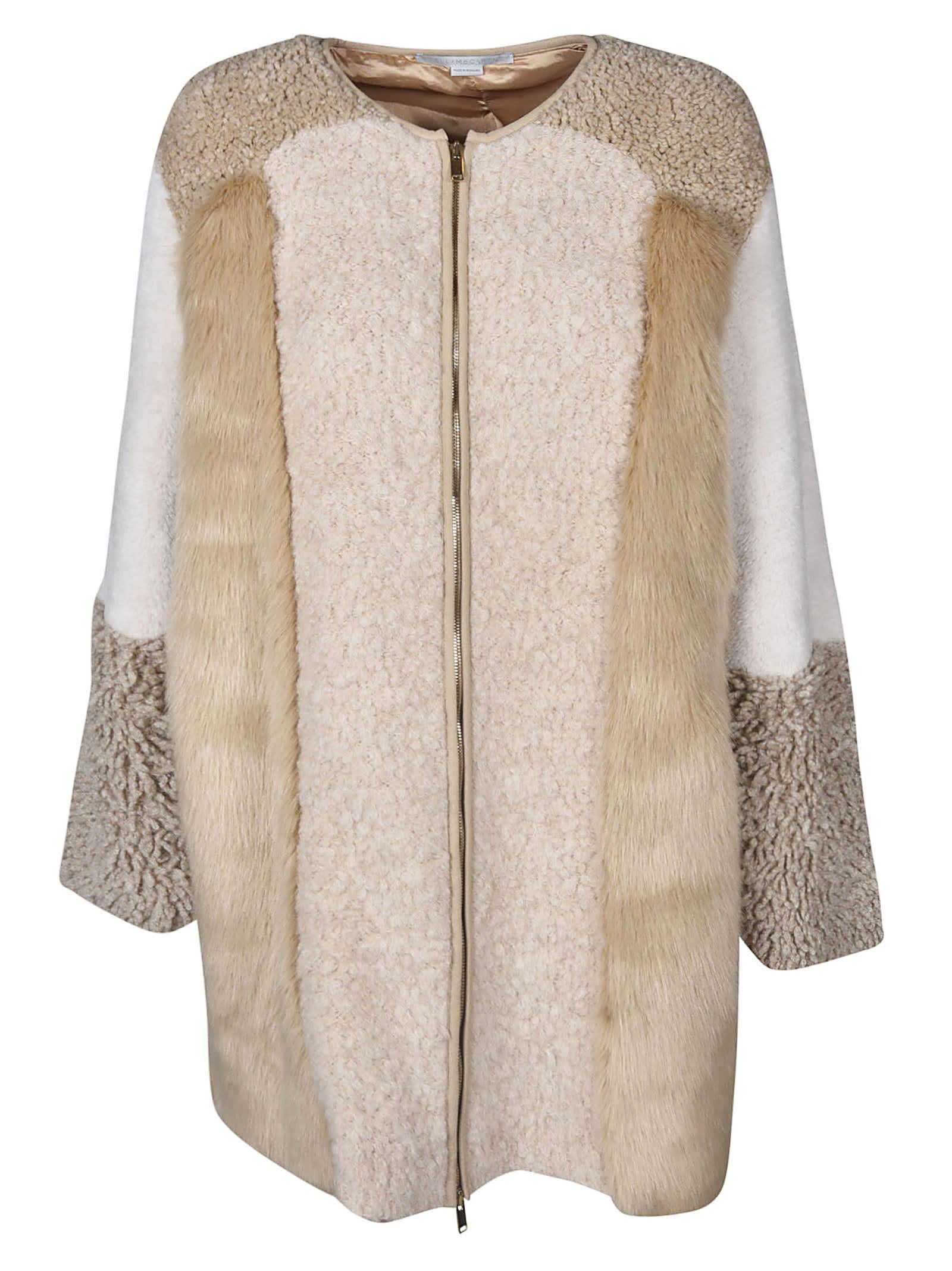 Stella McCartney Fur Free Coat