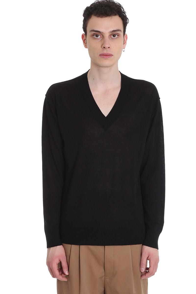 Mauro Grifoni Knitwear In Black Cotton