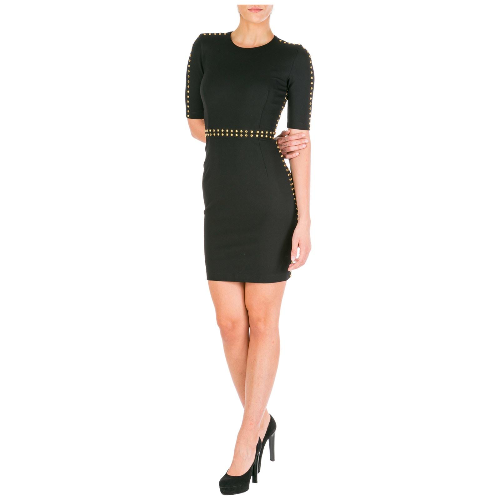 Versace Jeans Couture Short Mini Dress Short Sleeve