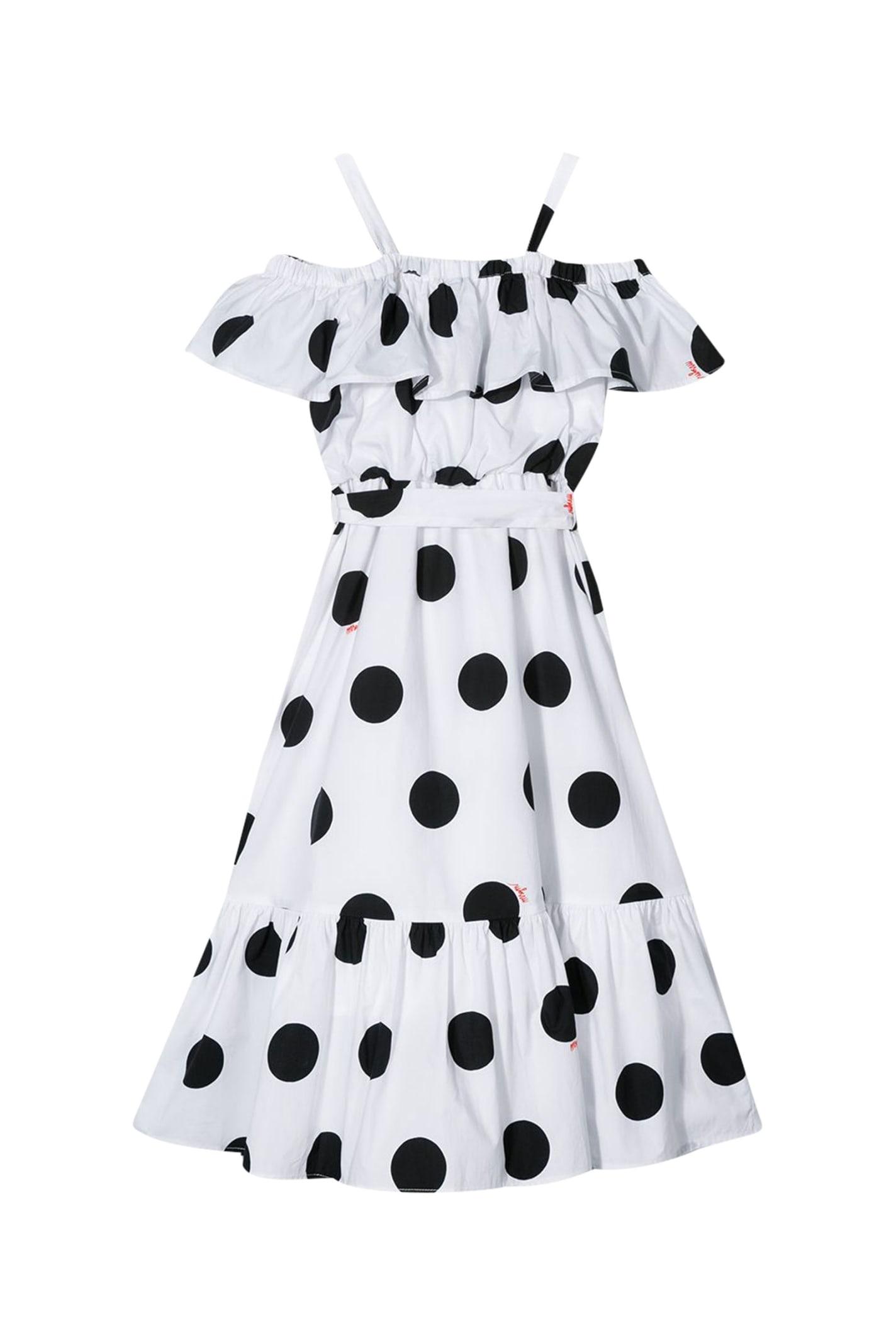 Buy Msgm Kids Polka Dot Dress online, shop MSGM with free shipping