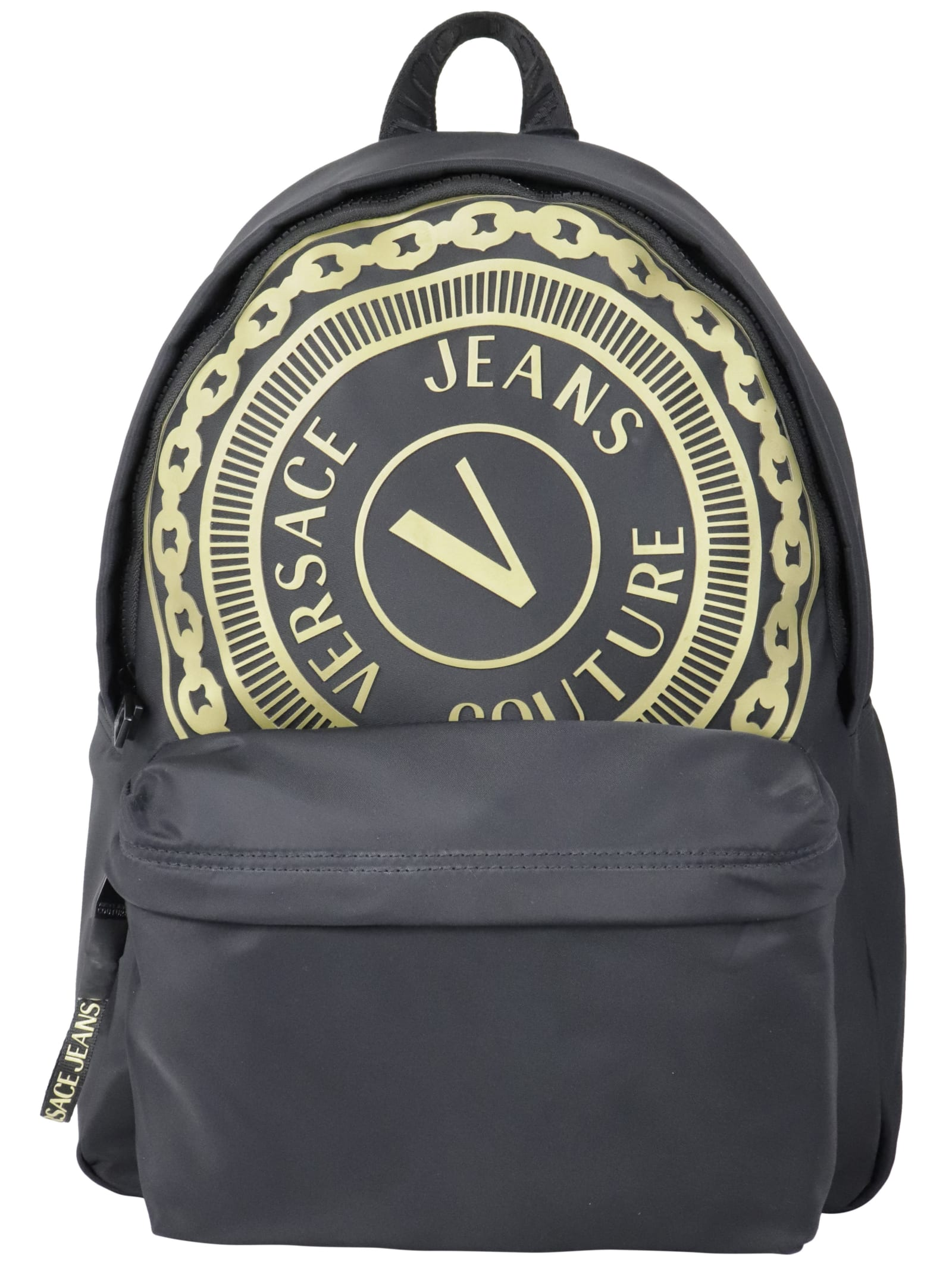 Versace Jeans Couture MACRO V-BUTTON TOTE