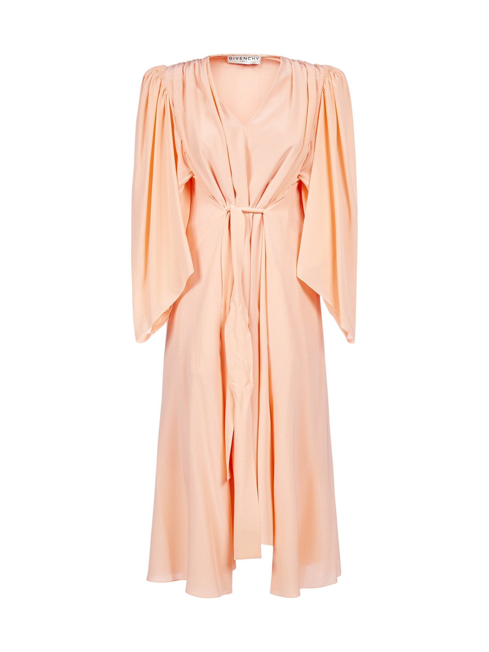 Givenchy Belted Silk Dress