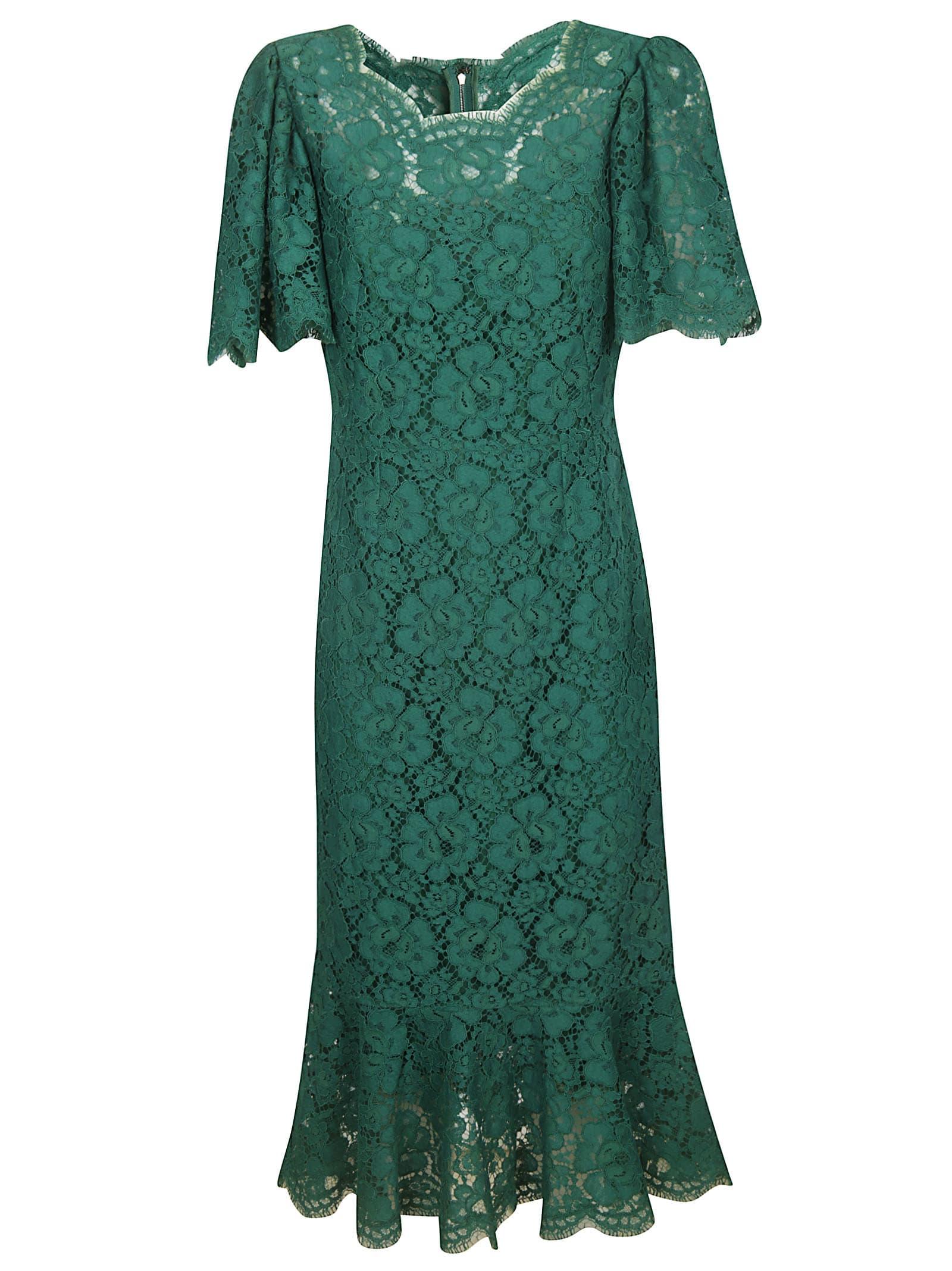 Photo of  Dolce & Gabbana Floral Lace Dress- shop Dolce & Gabbana  online sales