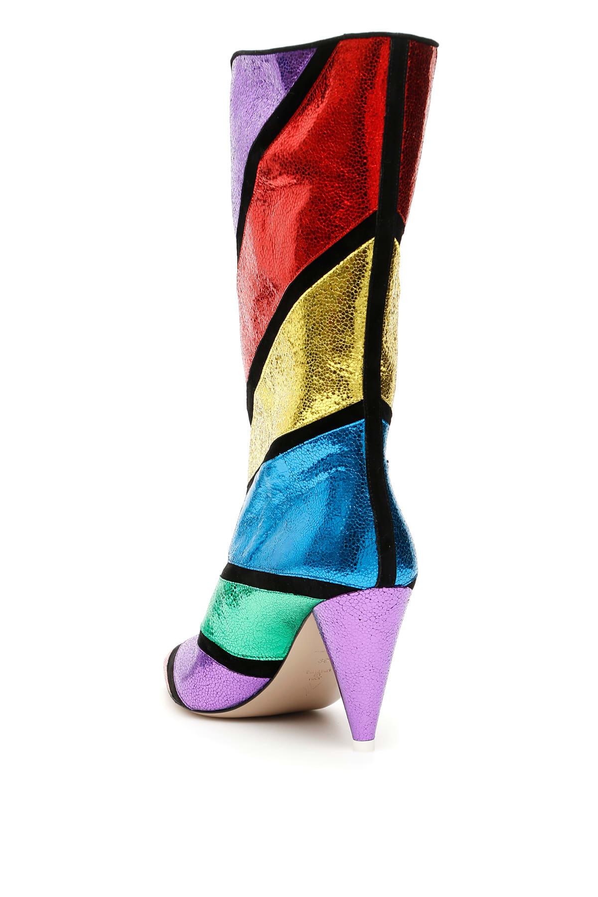 Particular The Attico Lame' Nappa Betta Boots - Great Deals