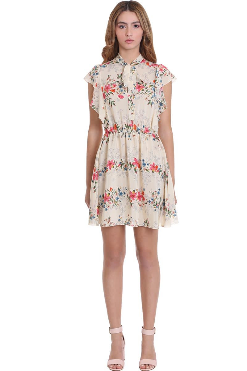 Buy RED Valentino Dress In Multicolor Silk online, shop RED Valentino with free shipping