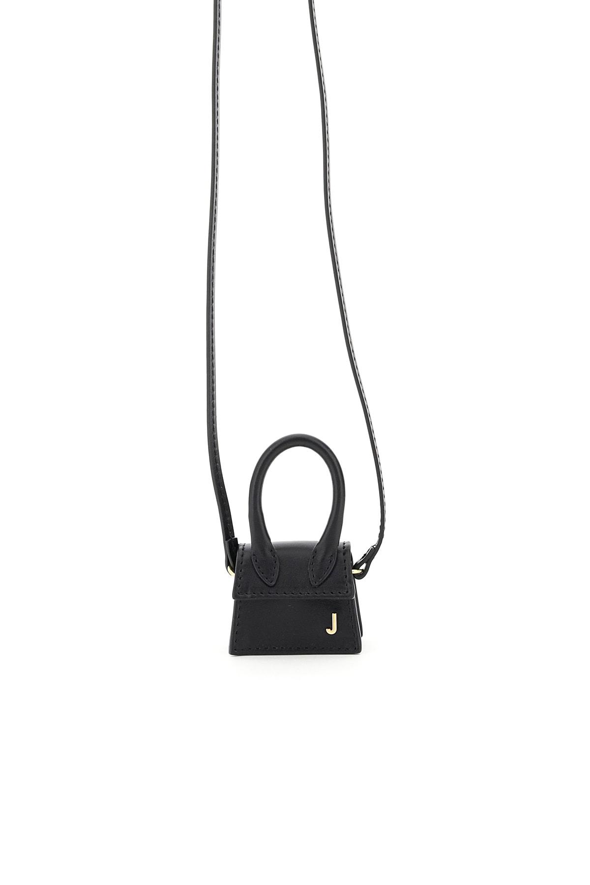 Jacquemus Le Petit Chiquito Micro Bag In Black (black)
