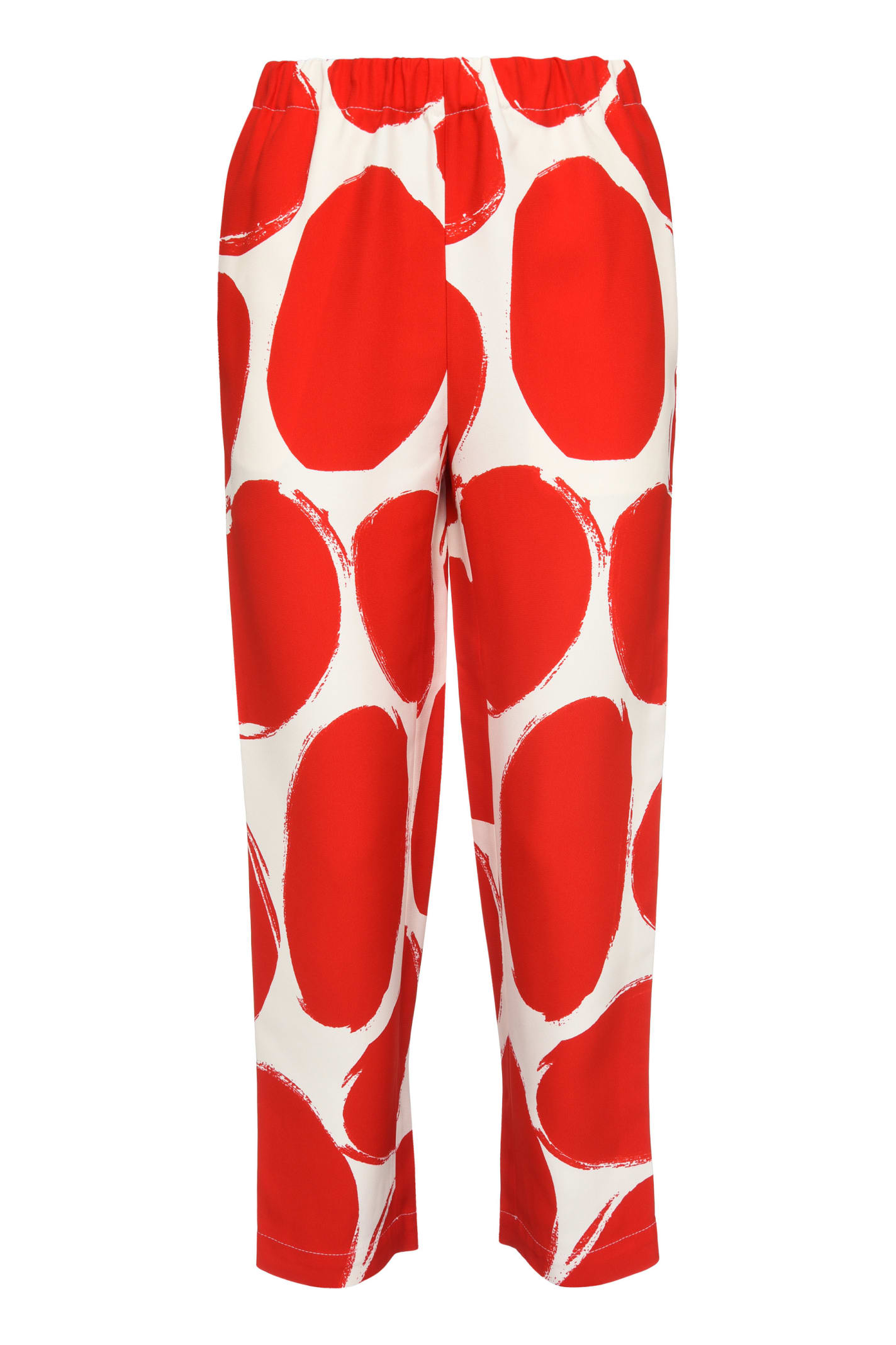 Marni PRINTED CADY TROUSERS