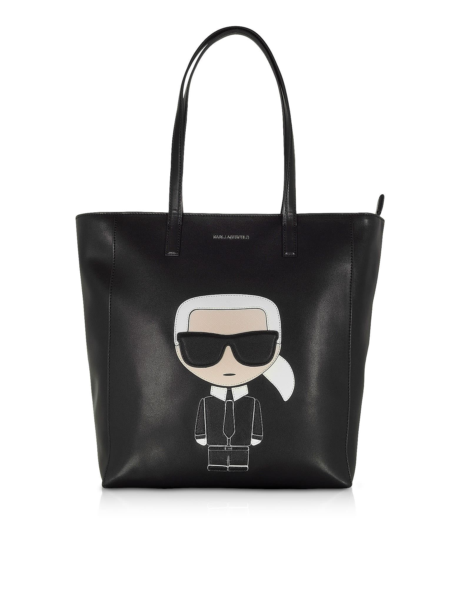 Karl Lagerfeld Totes K/IKONIK SOFT TOTE BAG