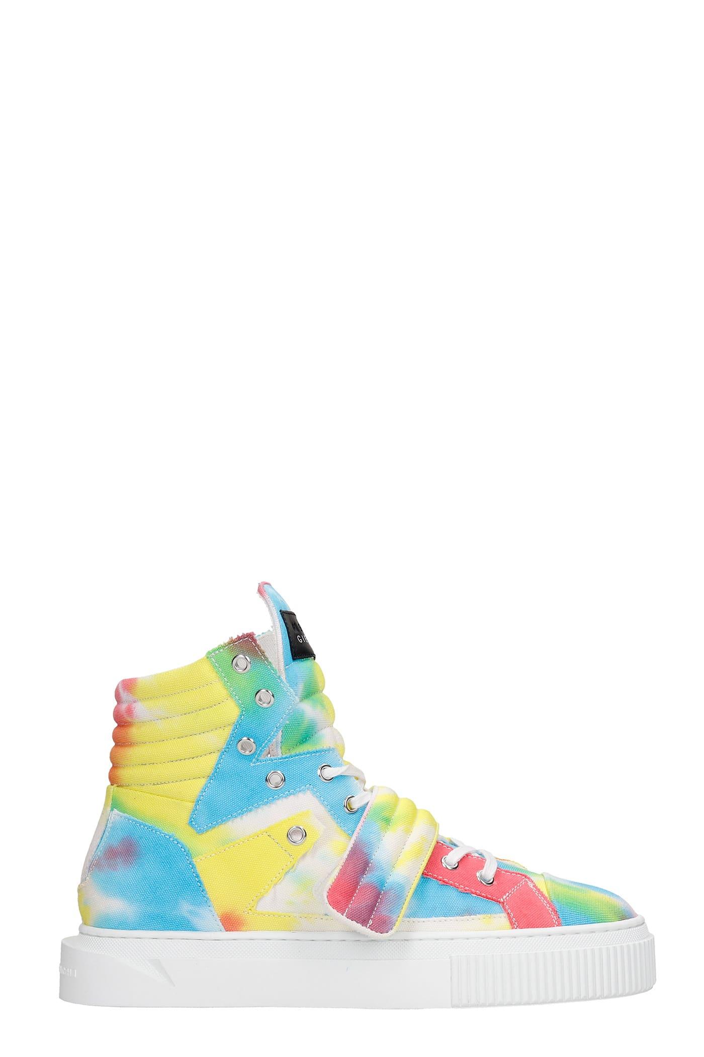 Hypnos Sneakers In Multicolor Canvas