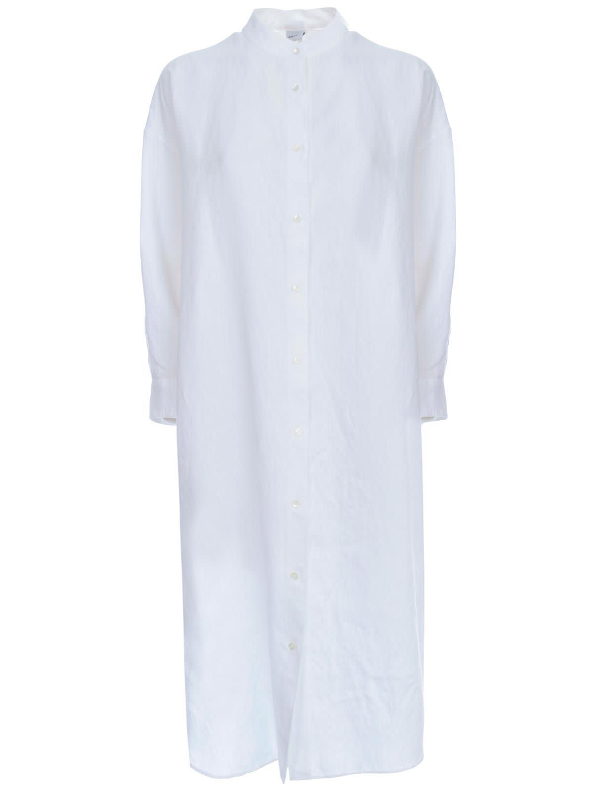 Buy Aspesi Dress L/s Guru Neck Rounded Bottom online, shop Aspesi with free shipping