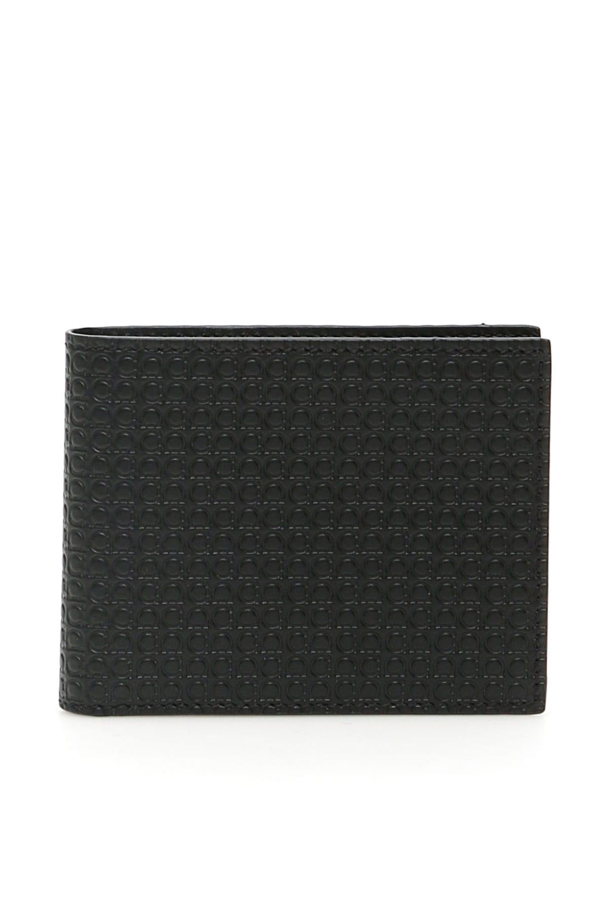 Salvatore Ferragamo Gancini Bi-fold Wallet