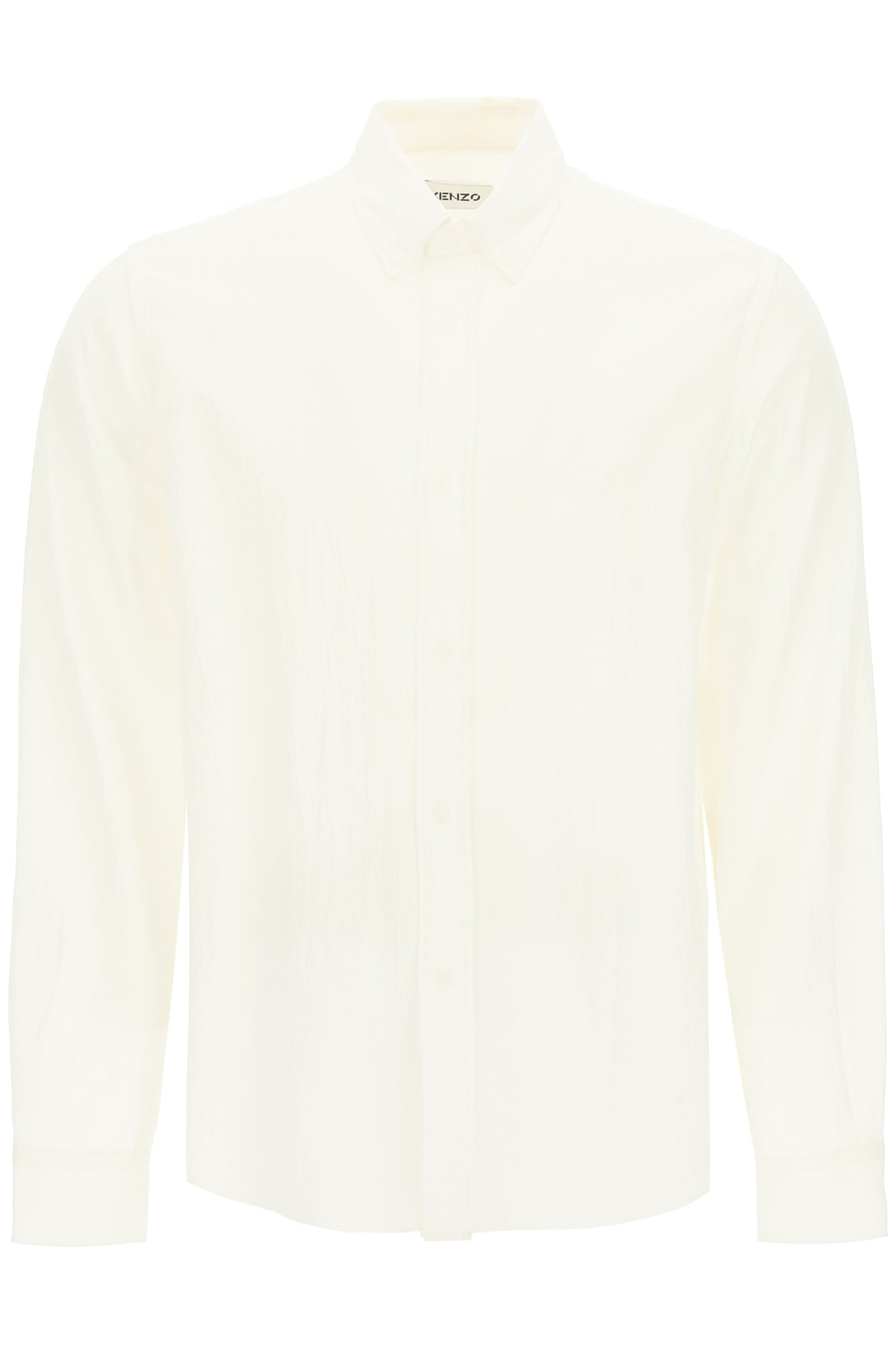 Kenzo CASUAL SHIRT WITH TIGER EMBROIDERY