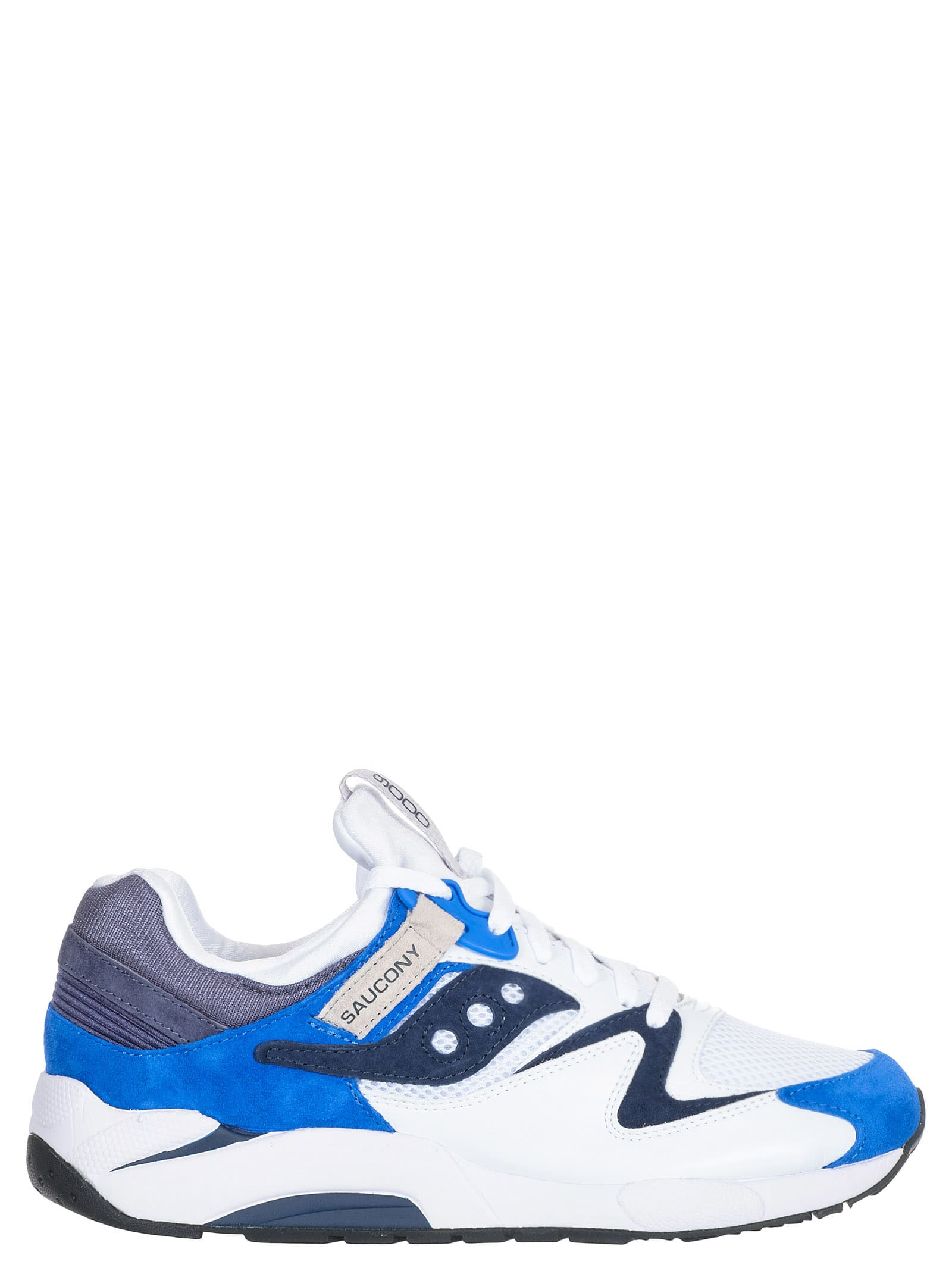 blue saucony sneakers