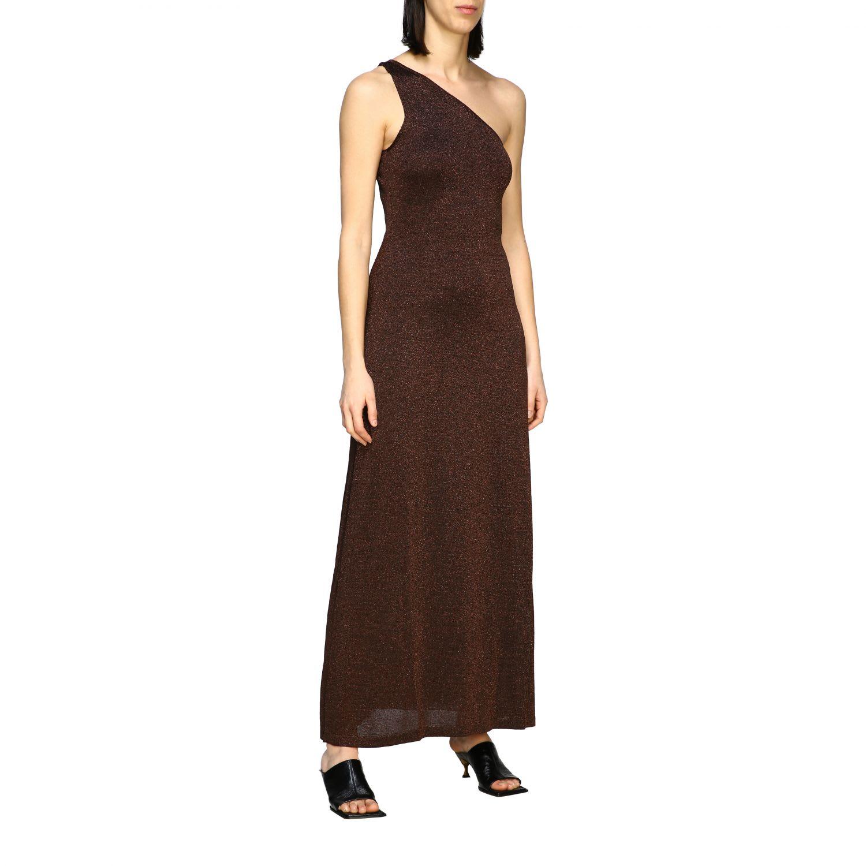 Buy Missoni Dress Long Missoni One-shoulder Lurex Jacquard Dress online, shop Missoni with free shipping