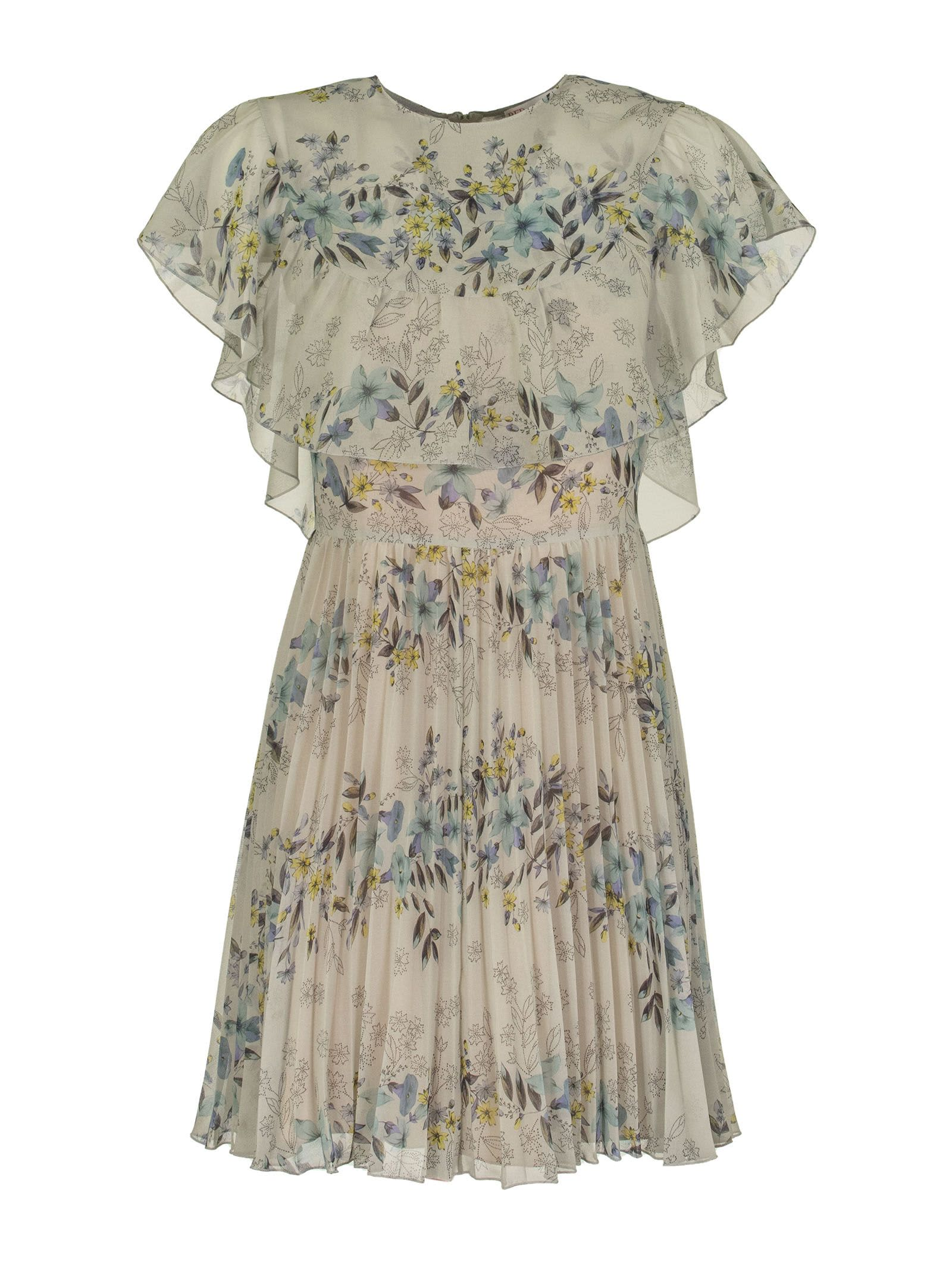 Buy RED Valentino Tormalina Printed Fabric Dress online, shop RED Valentino with free shipping