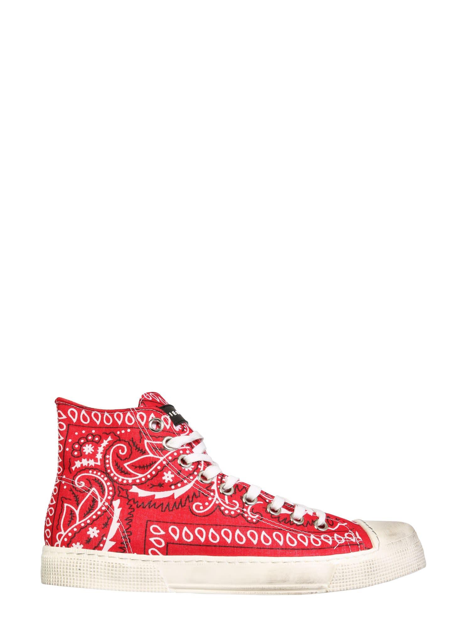 High Jean Michel Sneakers