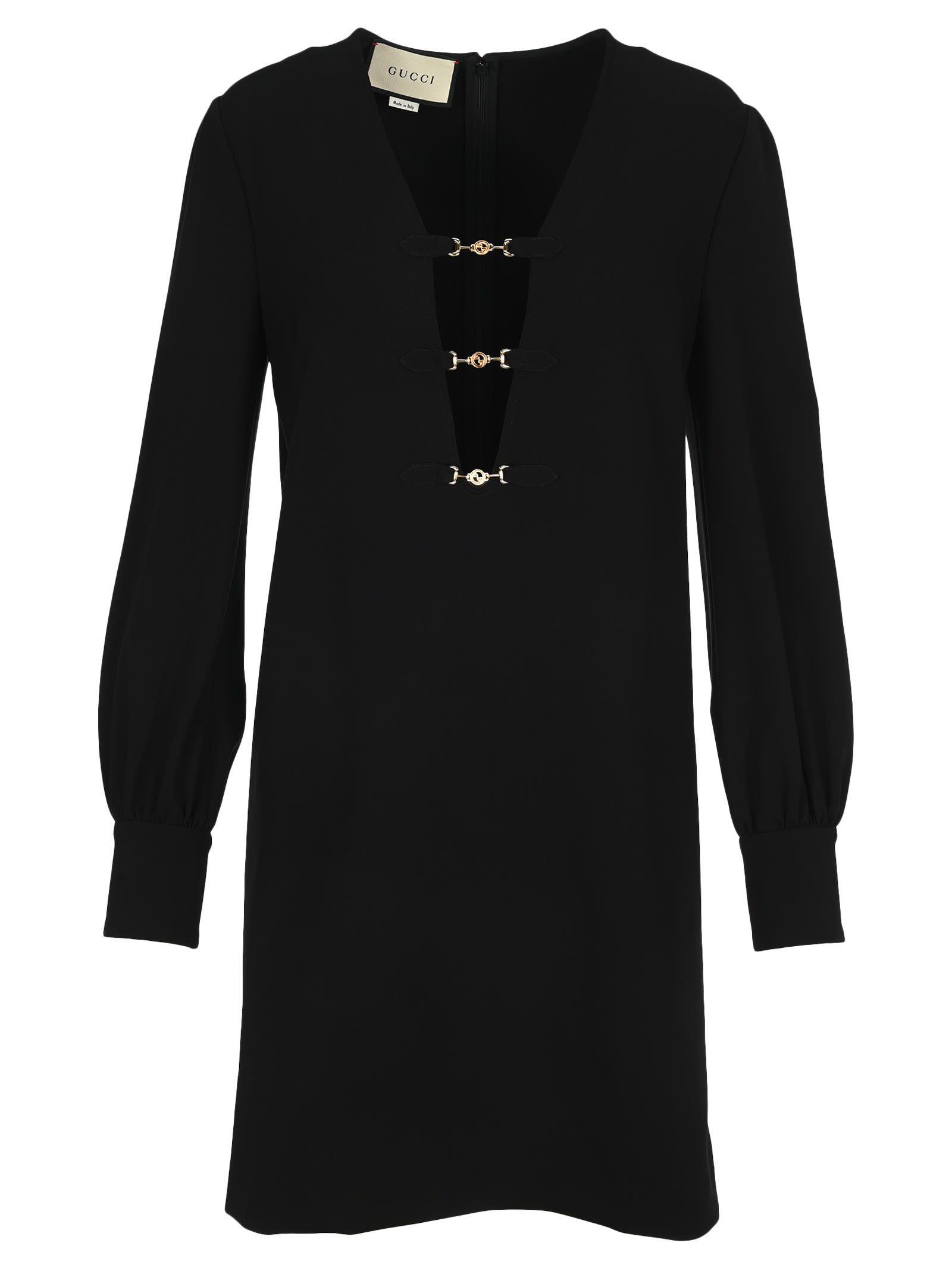 Buy Gucci Interlocking G Horsebit Dress online, shop Gucci with free shipping