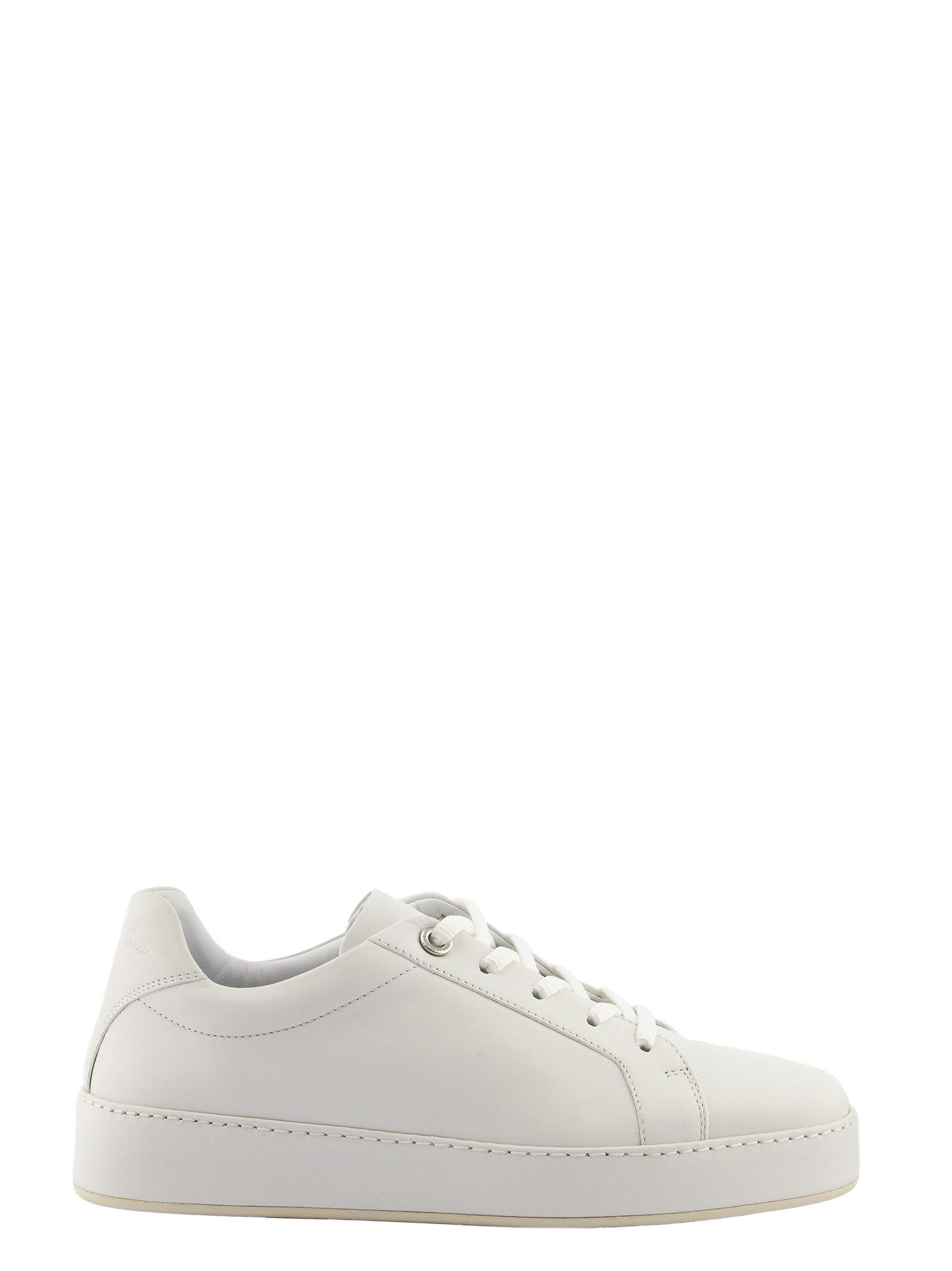 Loro Piana NUAGES DYED SNEAKERS CALF WHITE