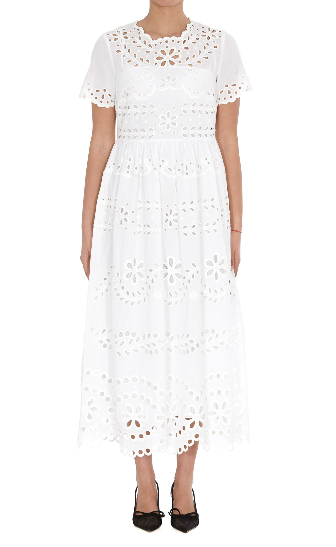Buy Red Valentino Sangallo Dress online, shop RED Valentino with free shipping