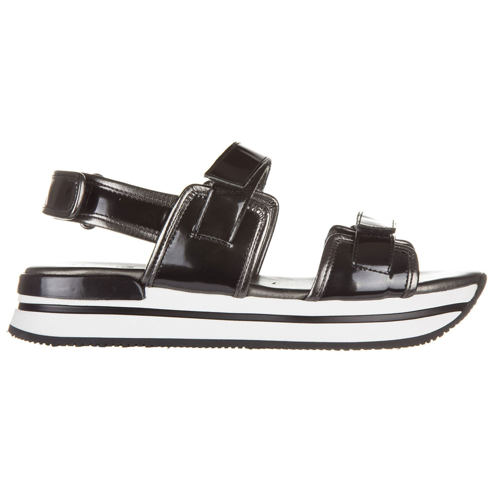 Hogan H222 Wedge Sandals