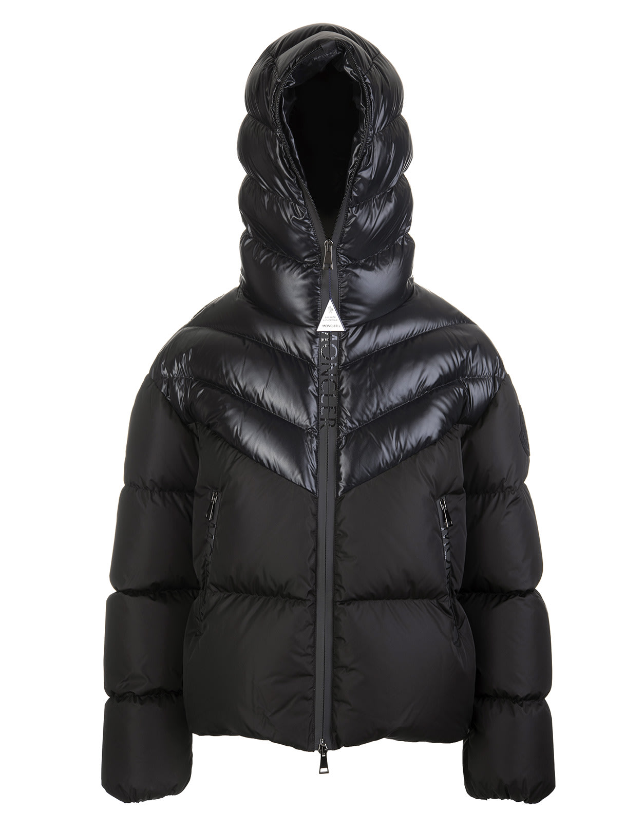 Moncler WOMAN BLACK GUENIOC DOWN JACKET